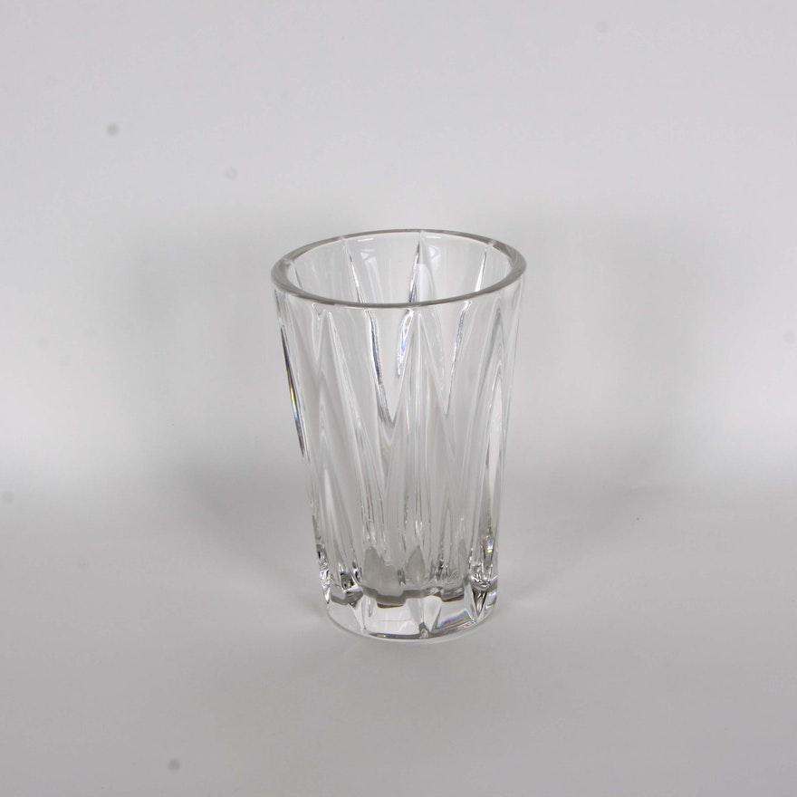 Villeroy And Boch Crystal Vase Ebth