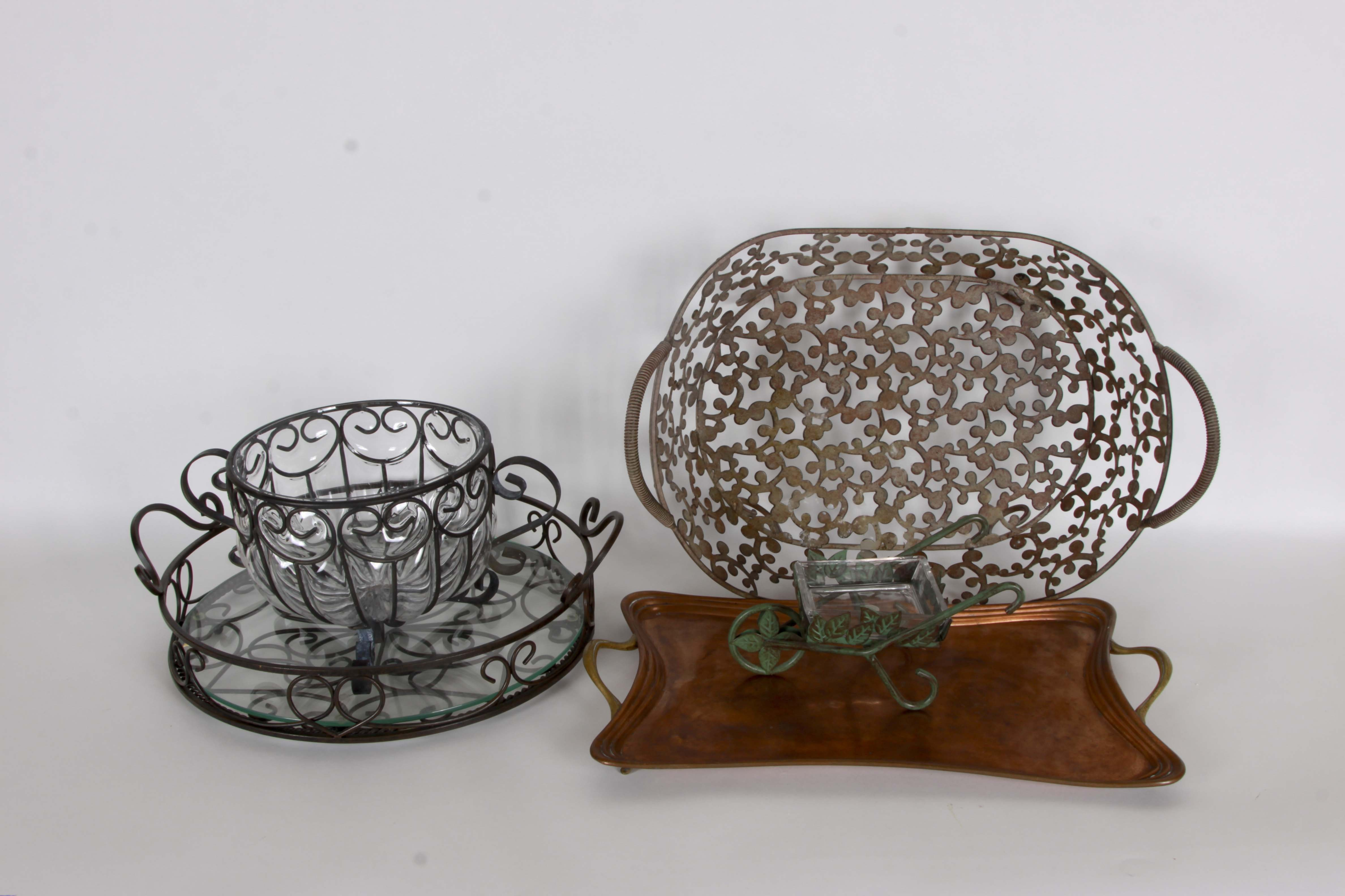 Collection of Metal Decor