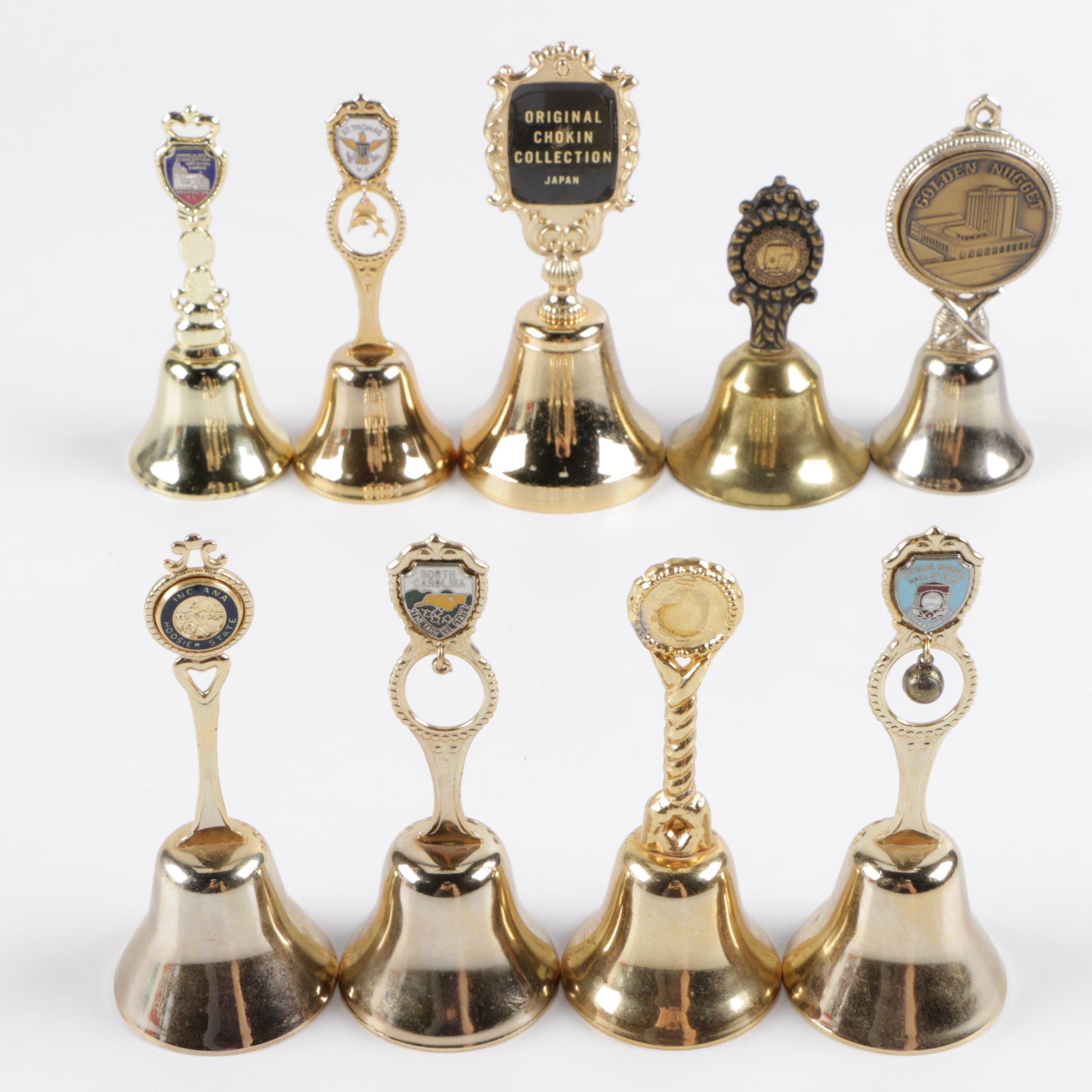 Metal Souvenir Handbells
