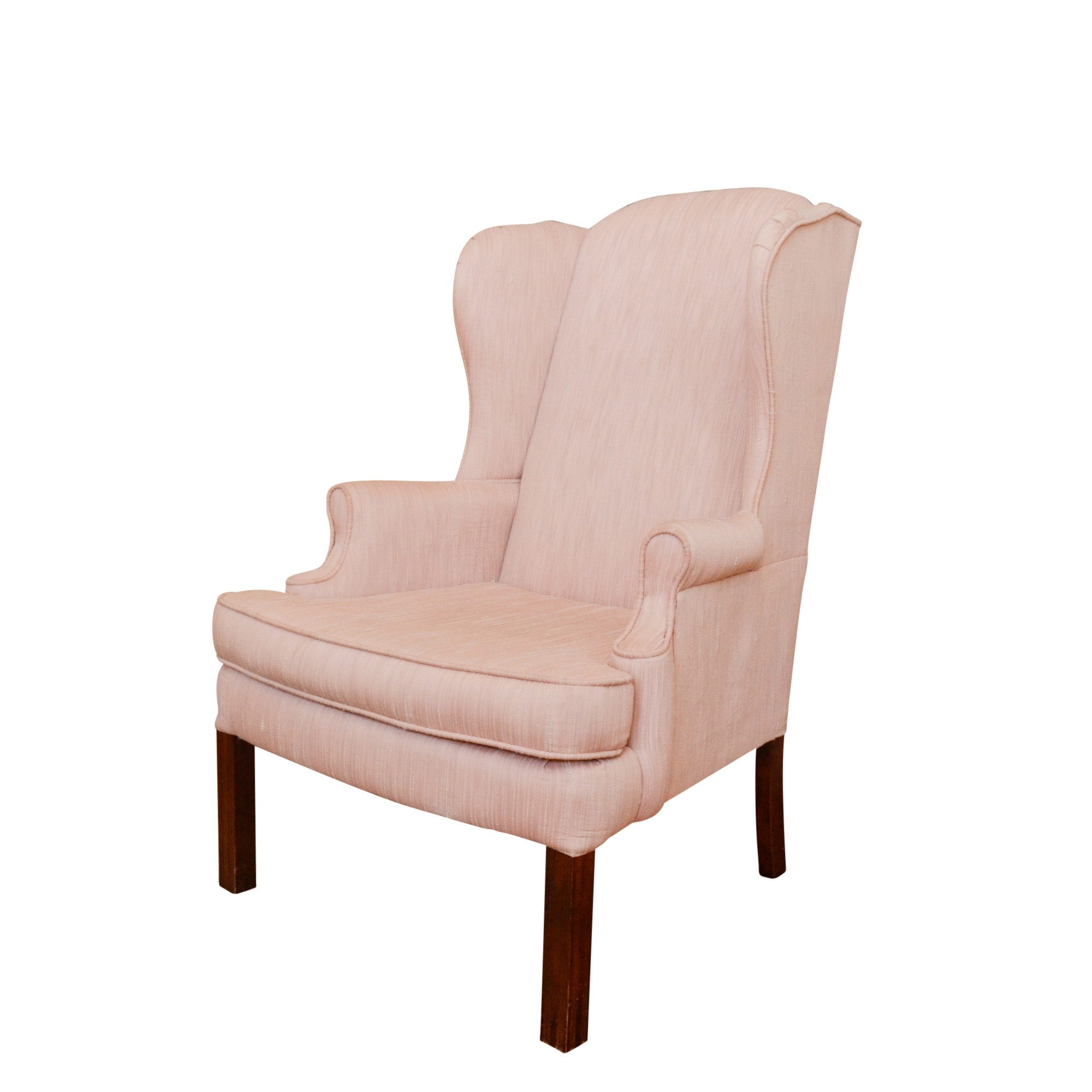 Chippendale Style Wingback Armchair by Bassett