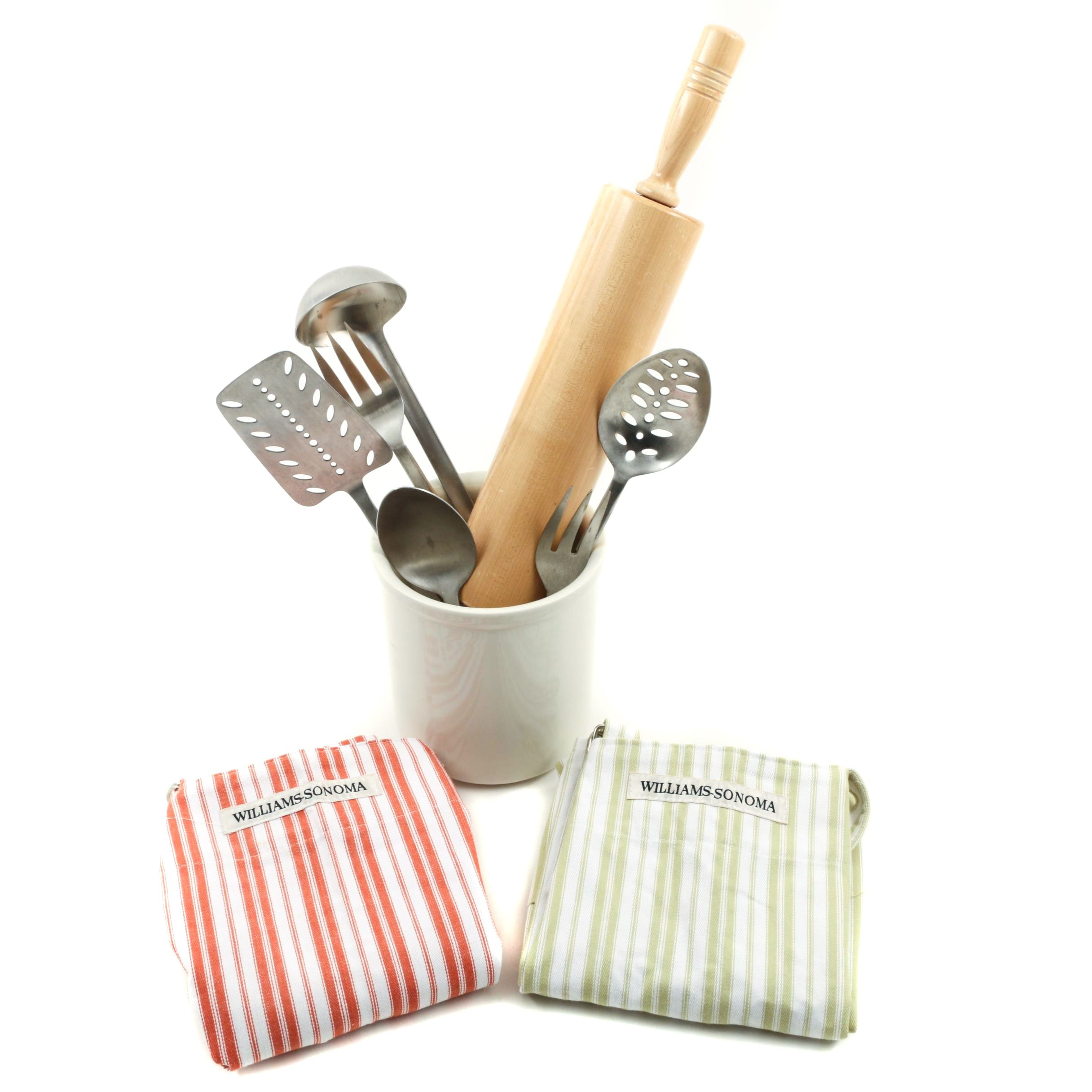 Williams-Sonoma Aprons and Kitchen Utensils