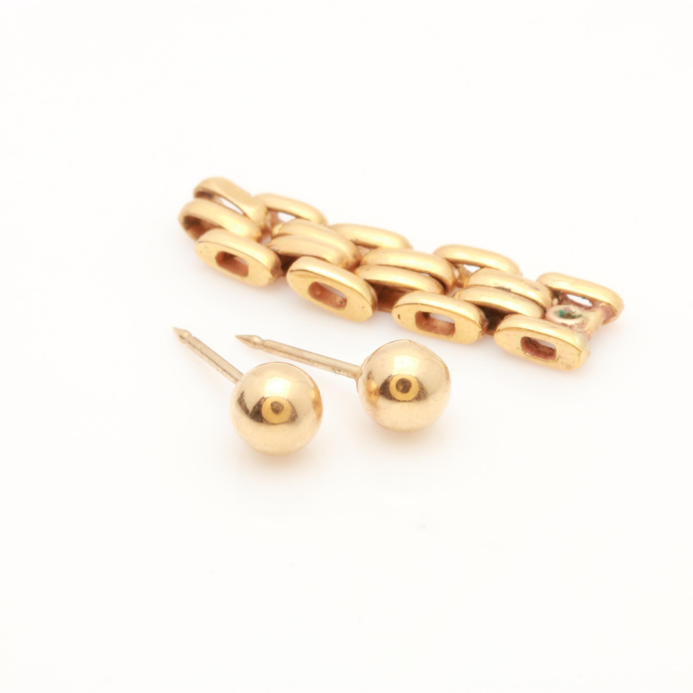 14K and 18K Yellow Gold Scrap Jewelry