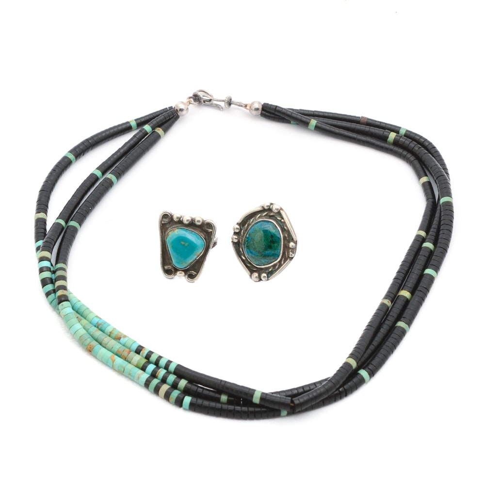 Southwestern Style Jewelry Selection
