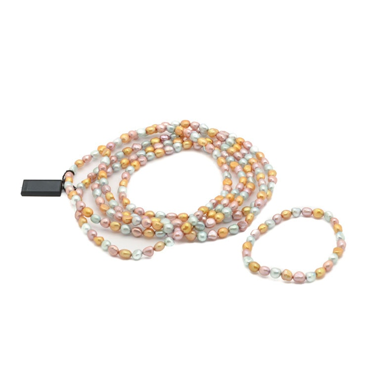Honora Cultured Freshwater Pearl Necklace and Bracelet