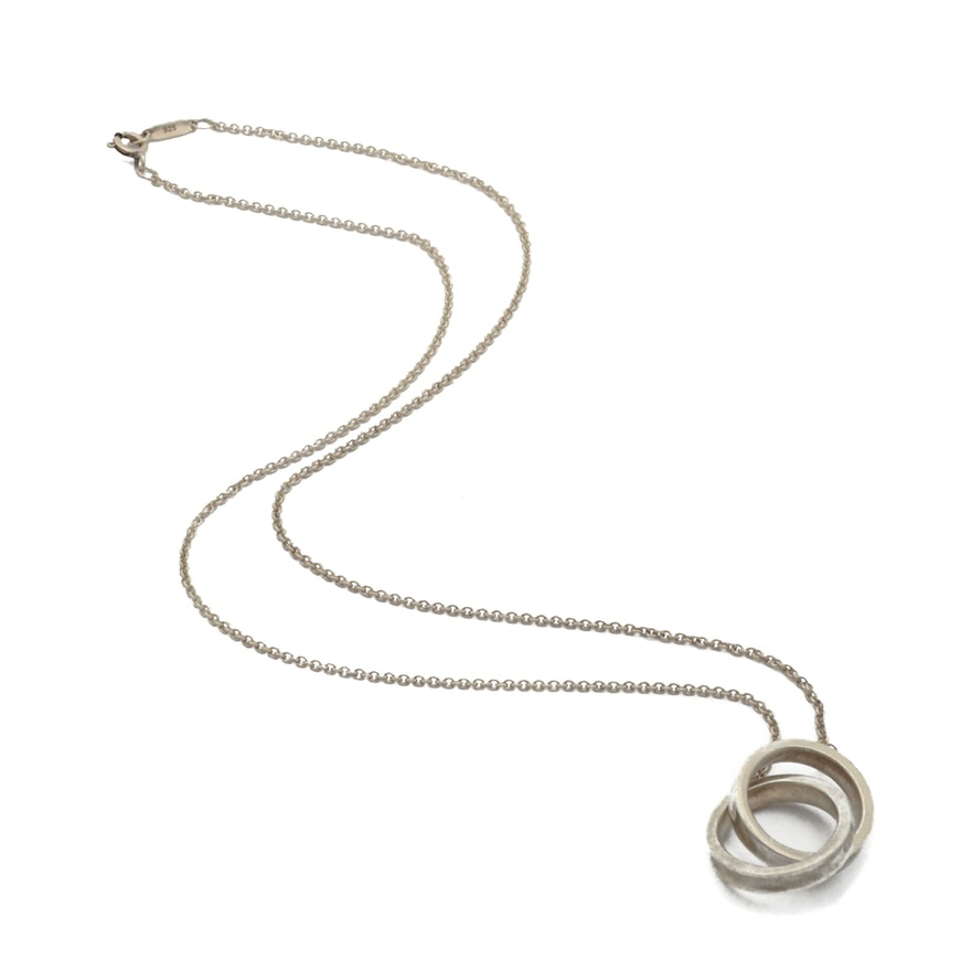 Tiffany co sterling silver interlocking circles pendant ebth tiffany co sterling silver interlocking circles pendant aloadofball Gallery