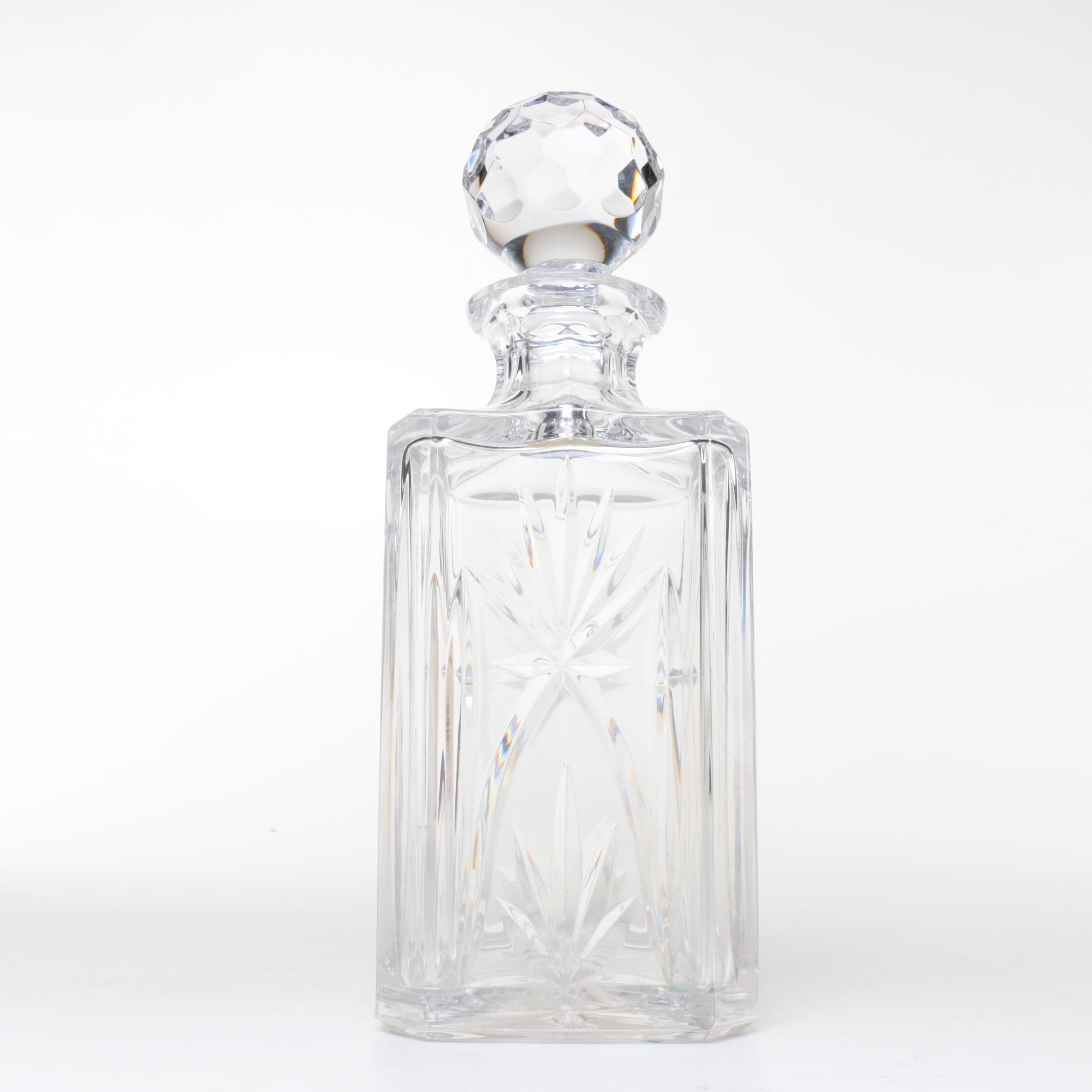 Atlantis Crystal Decanter