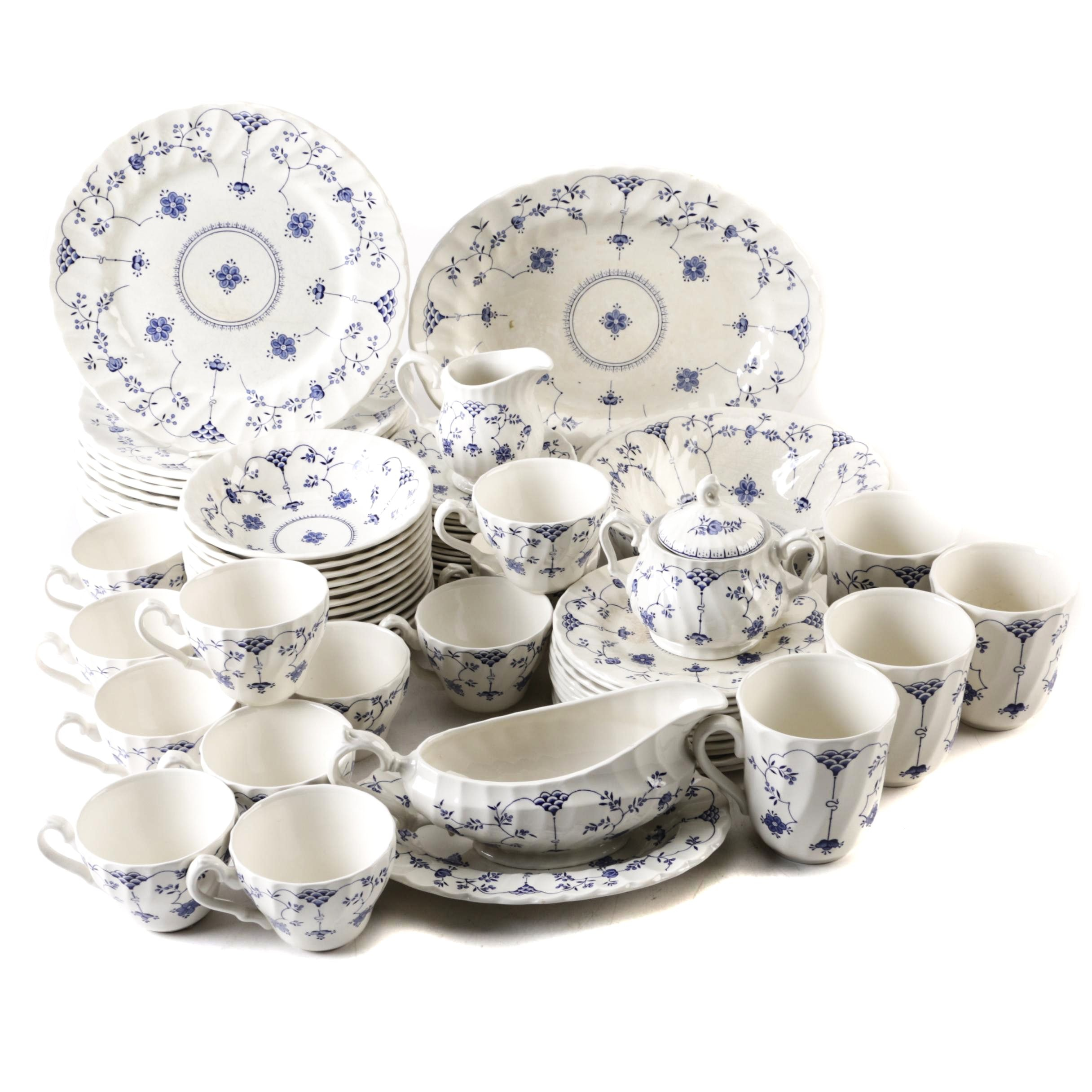 "Myott Staffordshire ""Finlandia"" Tableware and Serveware"