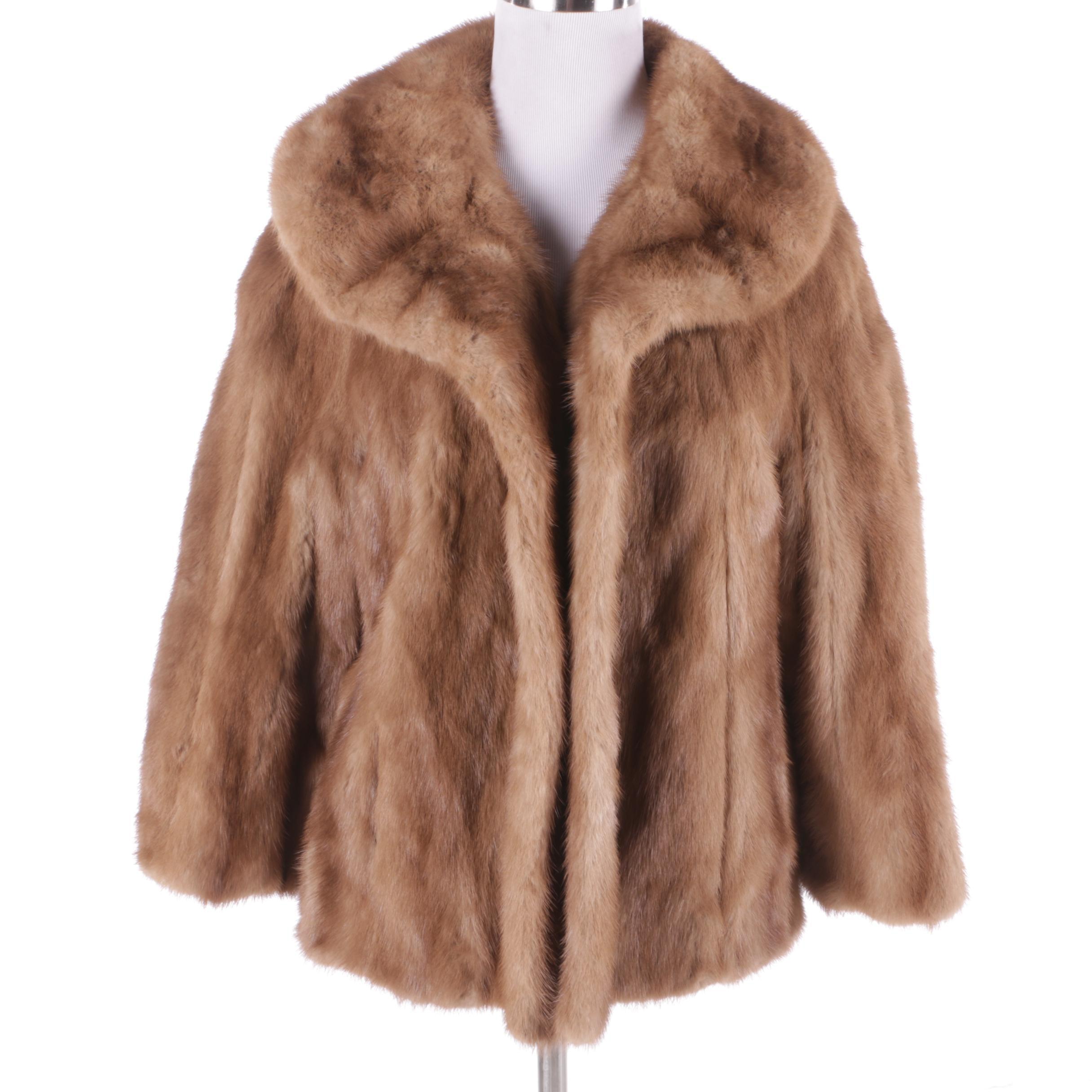 Women's Vintage Cele Peterson Mink Fur Jacket