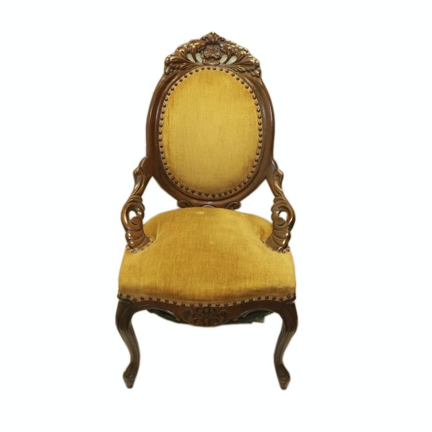 Vintage Victorian Style Side Chair ... - Vintage Victorian Style Side Chair : EBTH