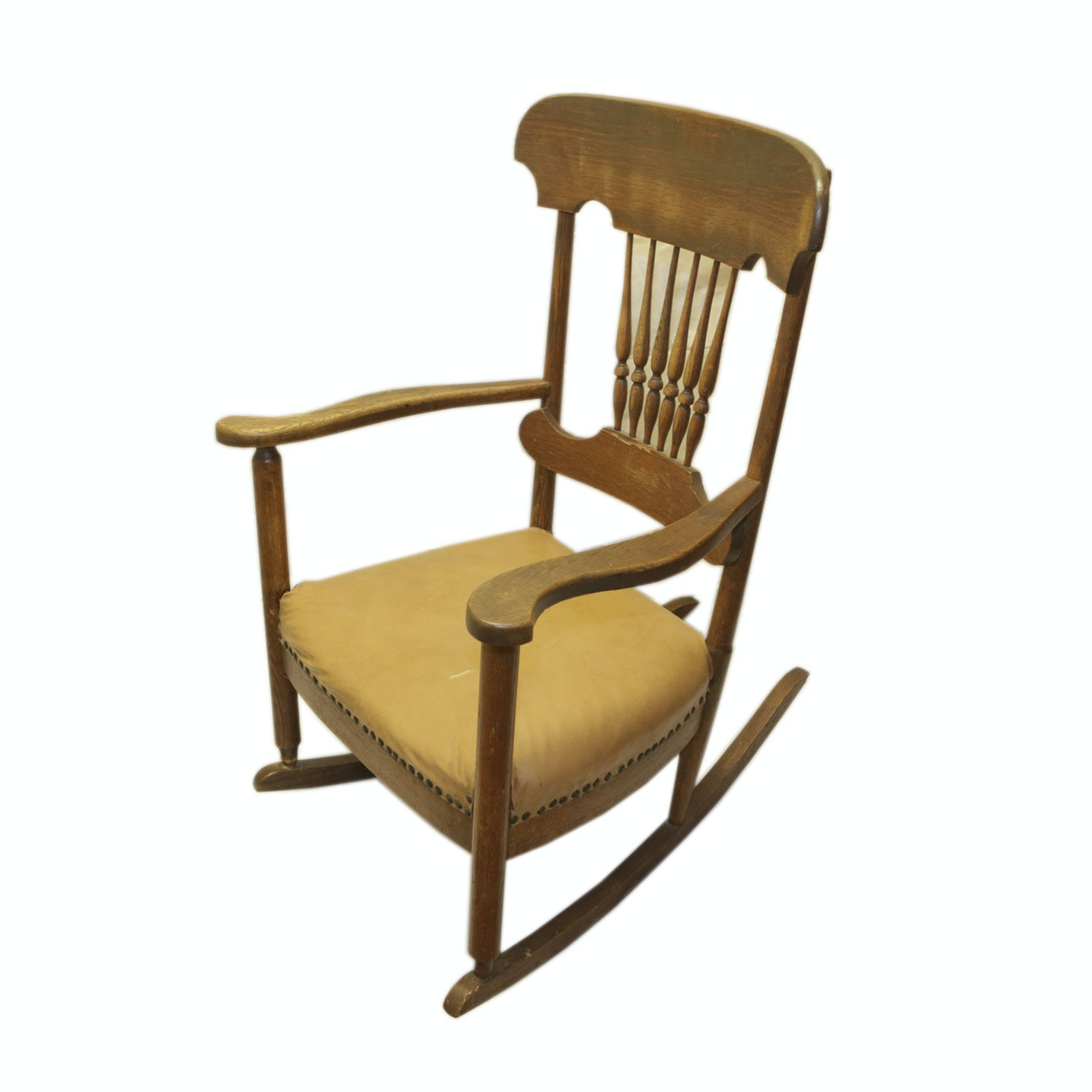 Spindle Back Rocking Chair