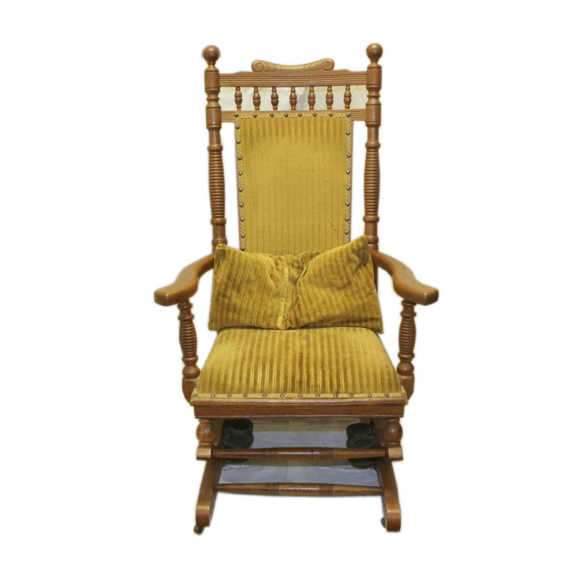 Eastlake Platform Rocking Chair