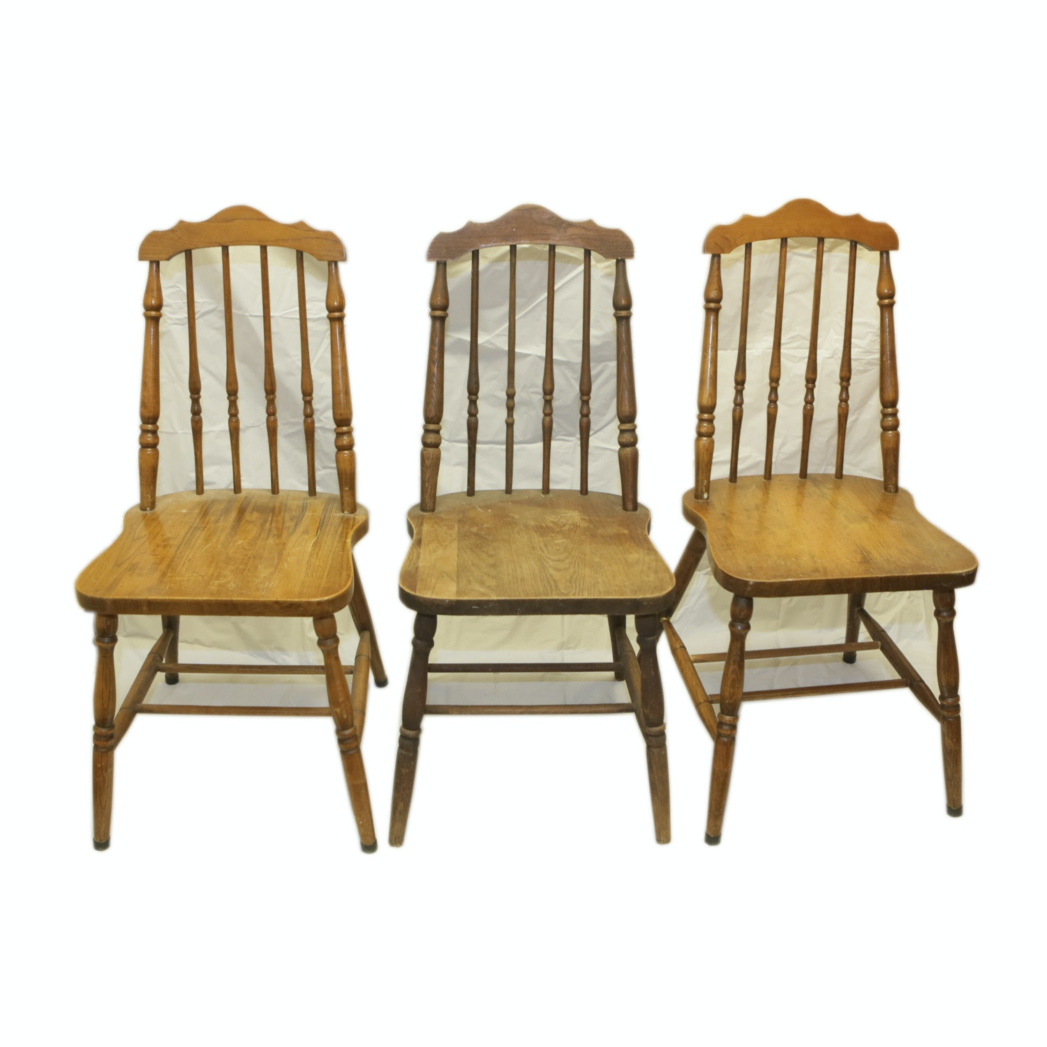 Vintage Spindle Back Side Chairs