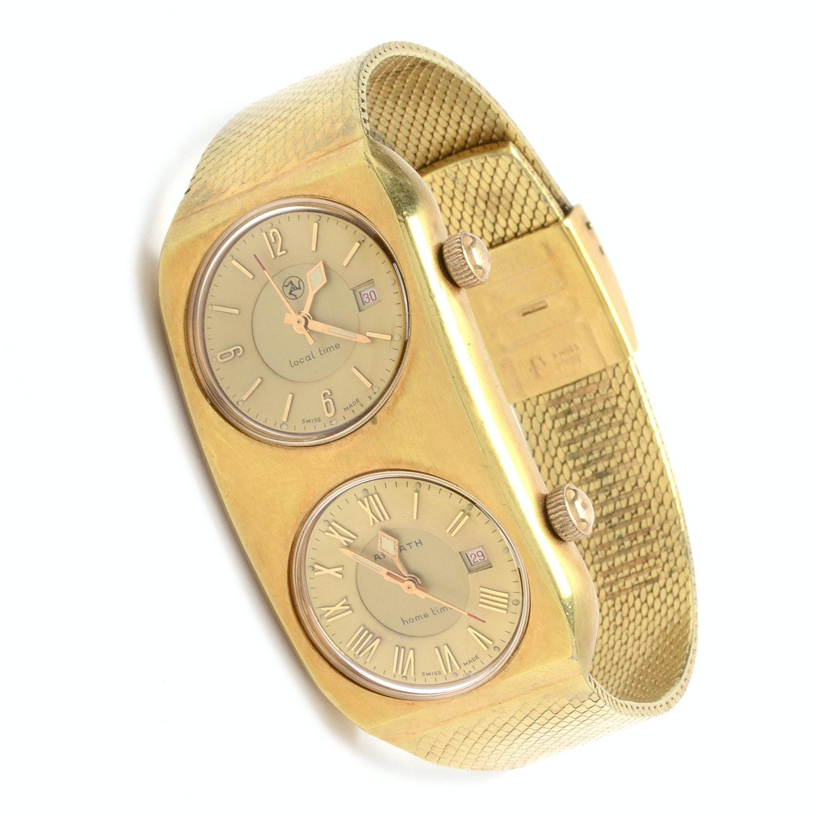 Ardath Double-Dial Wristwatch