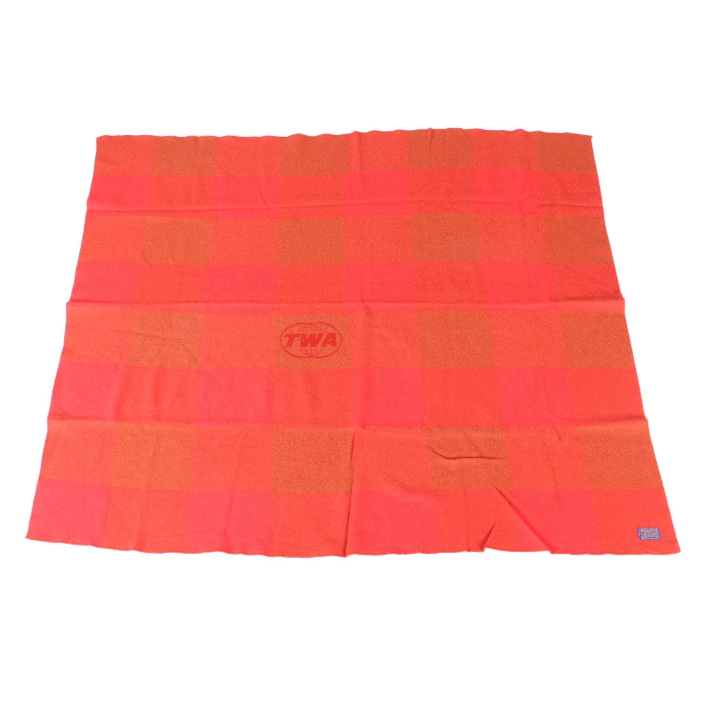 TWA Pendleton Wool Blanket