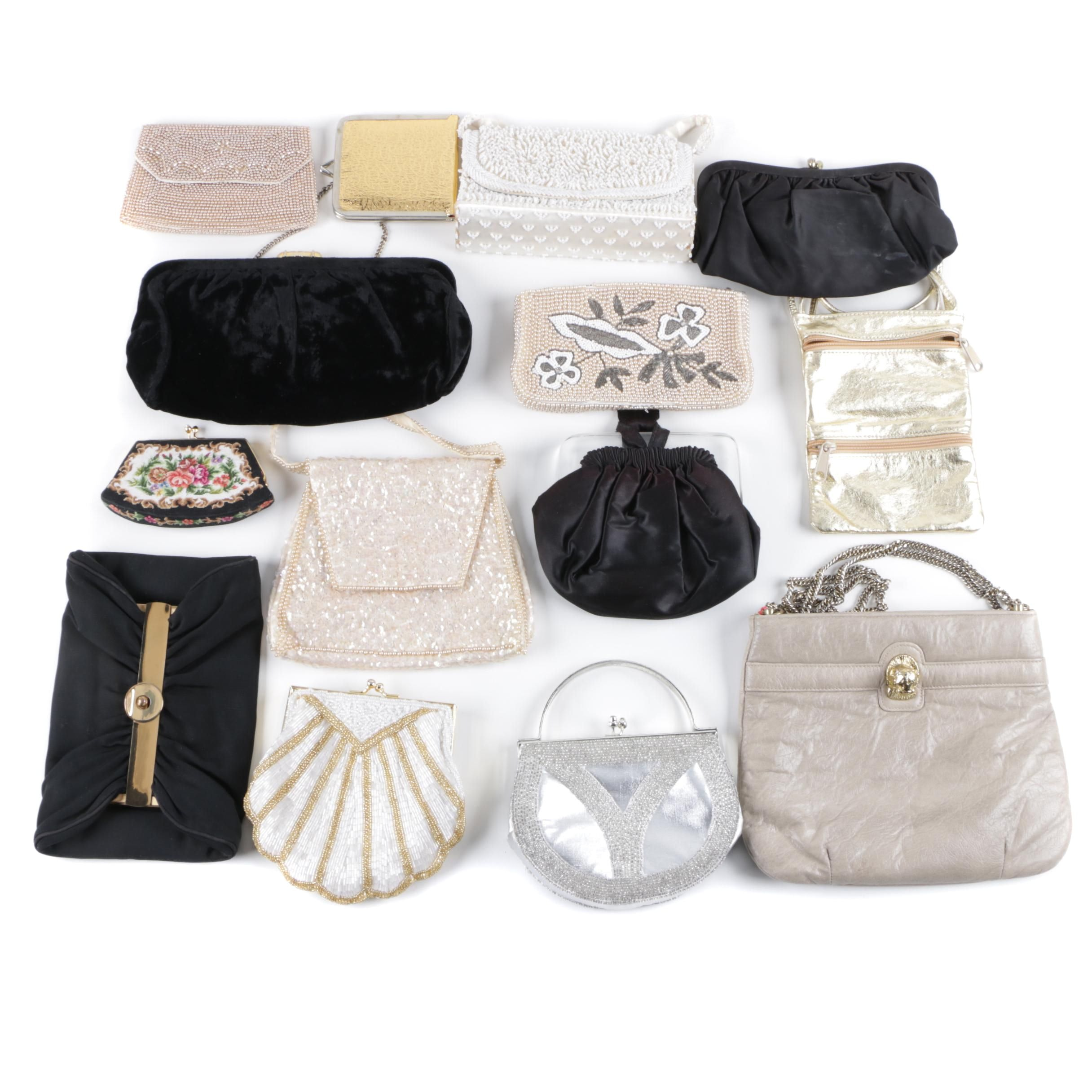 Vintage Evening Bags, Clutches and Coin Purses, Including Carla Marchi