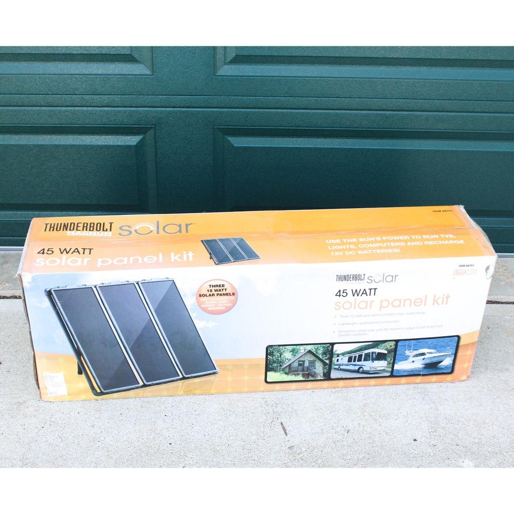 Thunderbolt Magnum Solar Panel Kit