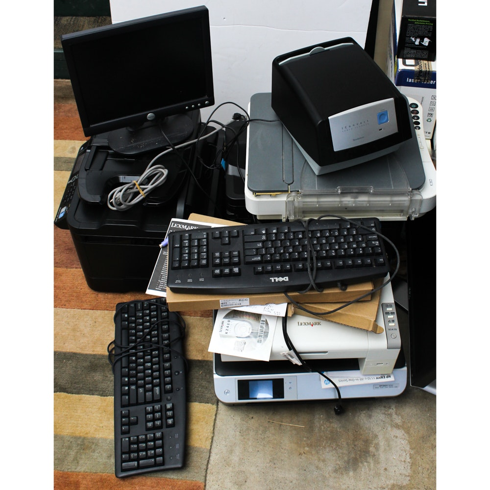 Computer Equipment Including Epson, Dell, Lexmark