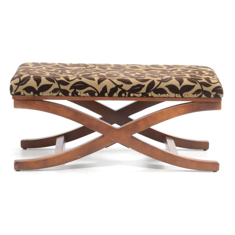 Contemporary Padded Bench