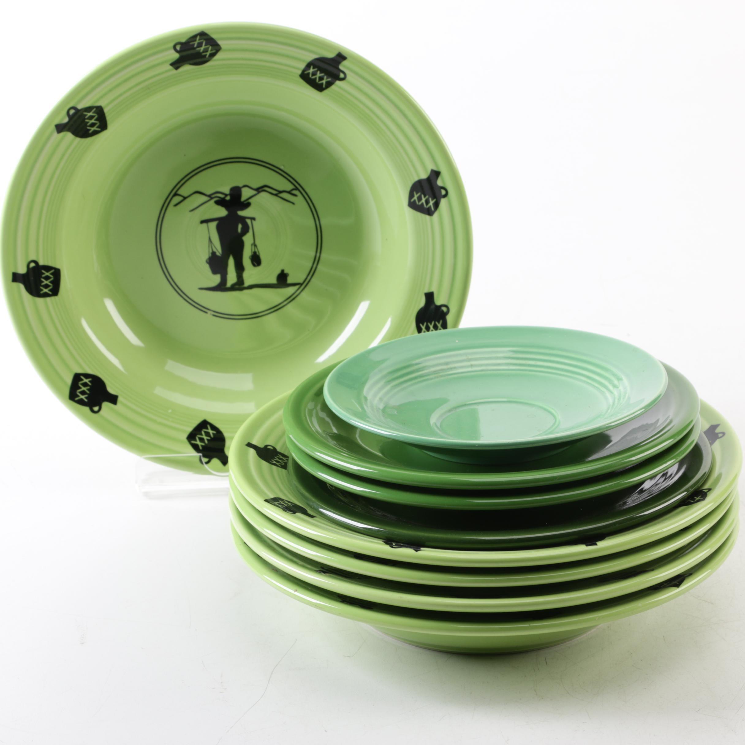 Homer-Laughlin Co. Green Fiestaware