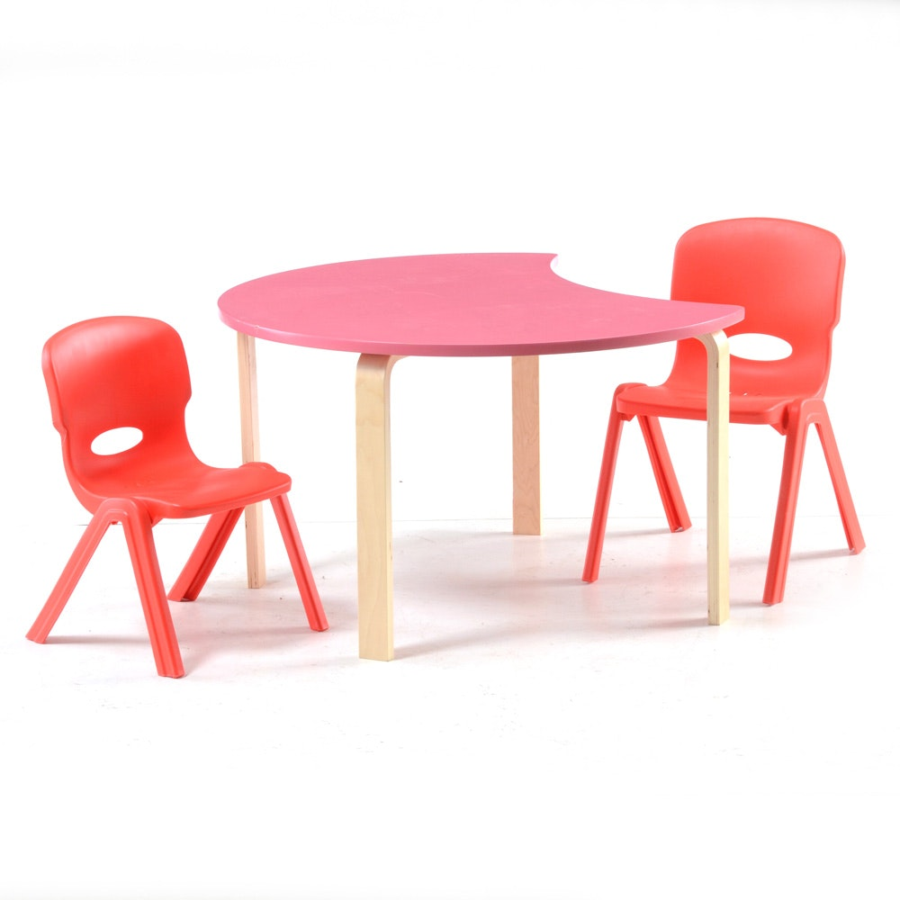 Children's Activity Table and Chairs