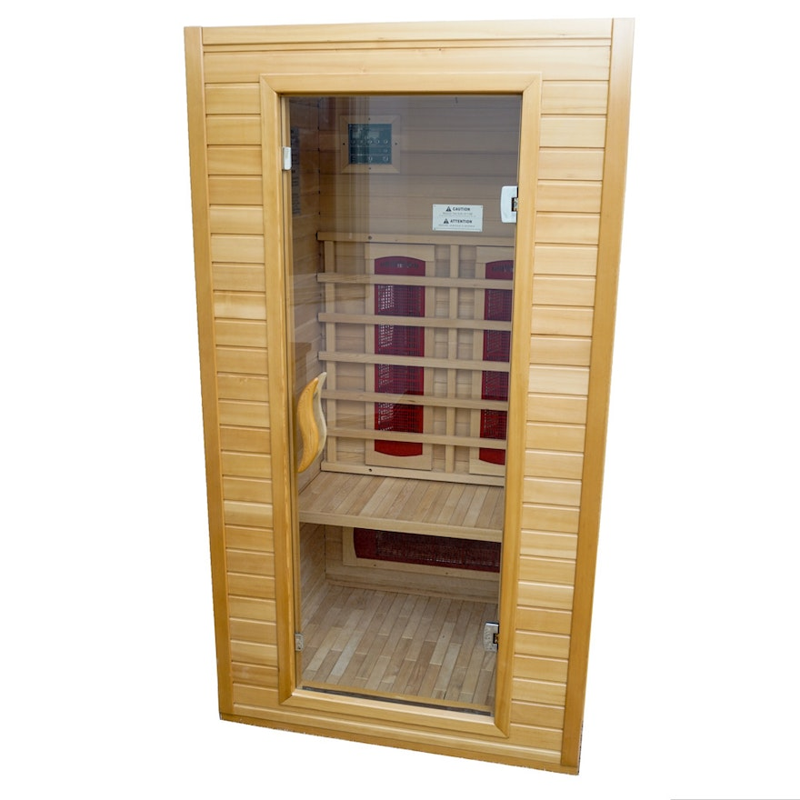 Keys backyard infrared two person indoor sauna ebth for Keys backyard sauna