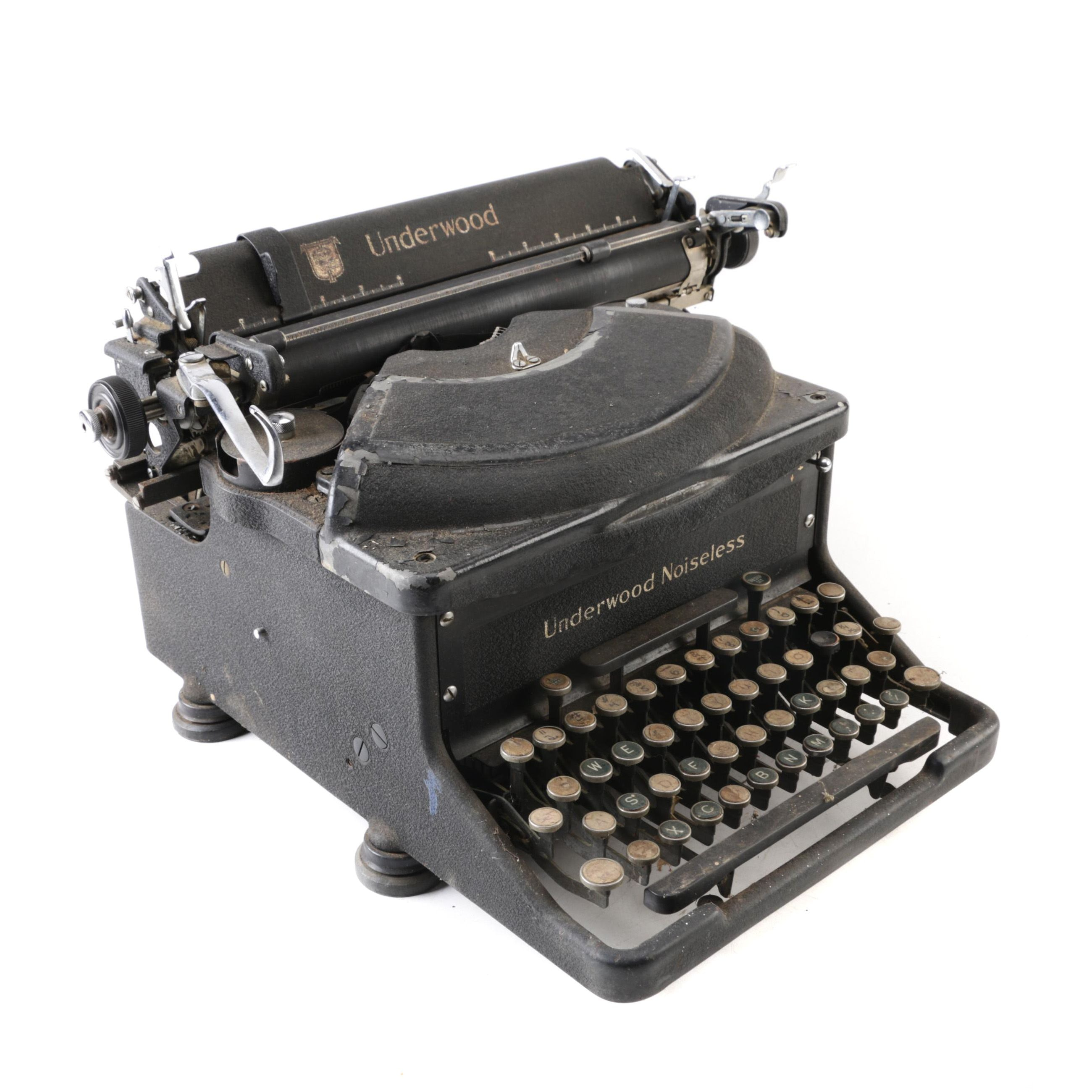Semi-Antique Underwood Noiseless Typewriter