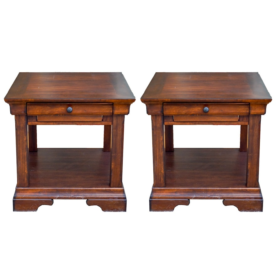 Aspen Home Coffee Table.Pair Of End Tables By Aspen Home