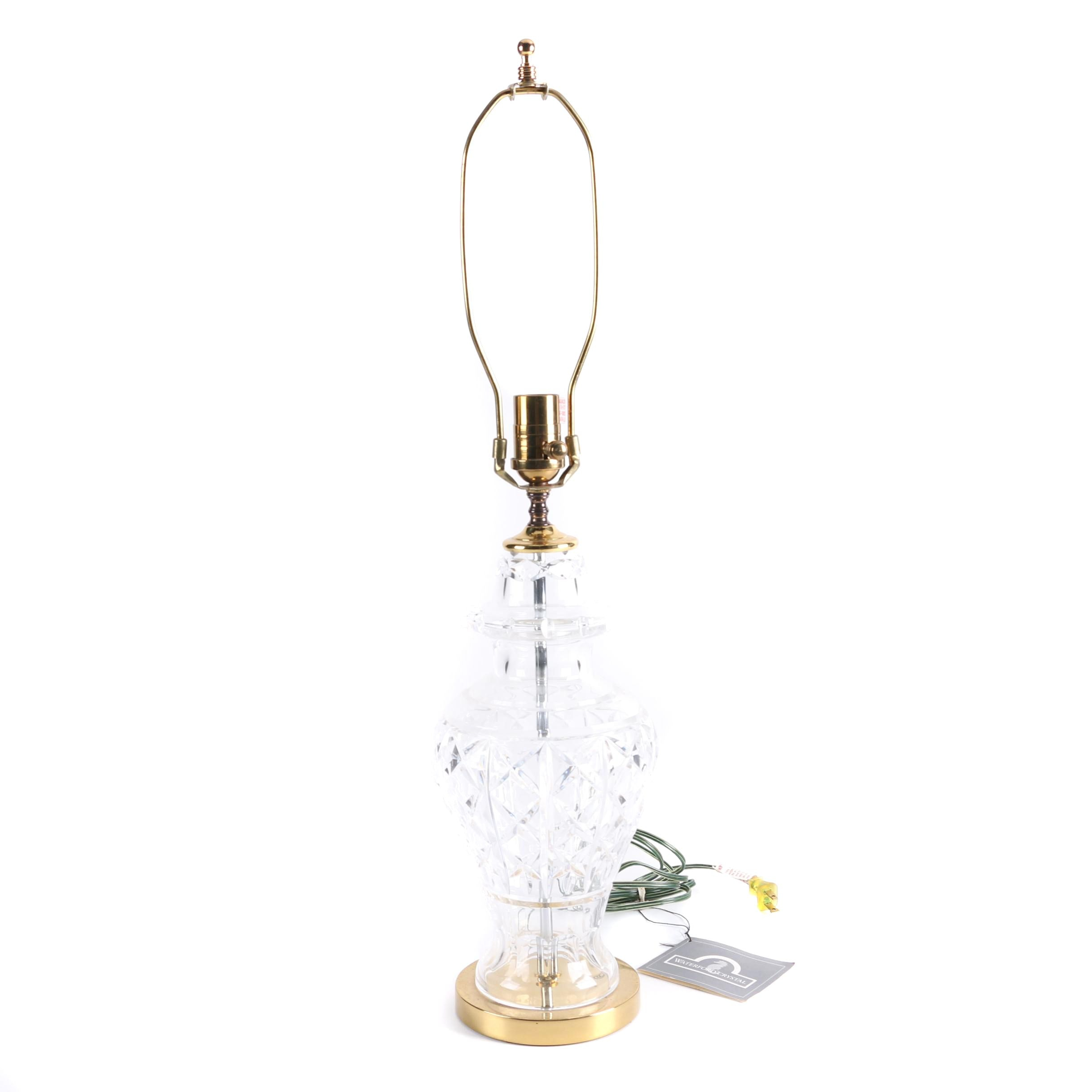 "Waterford Crystal ""Glengarriff"" Accent Lamp"