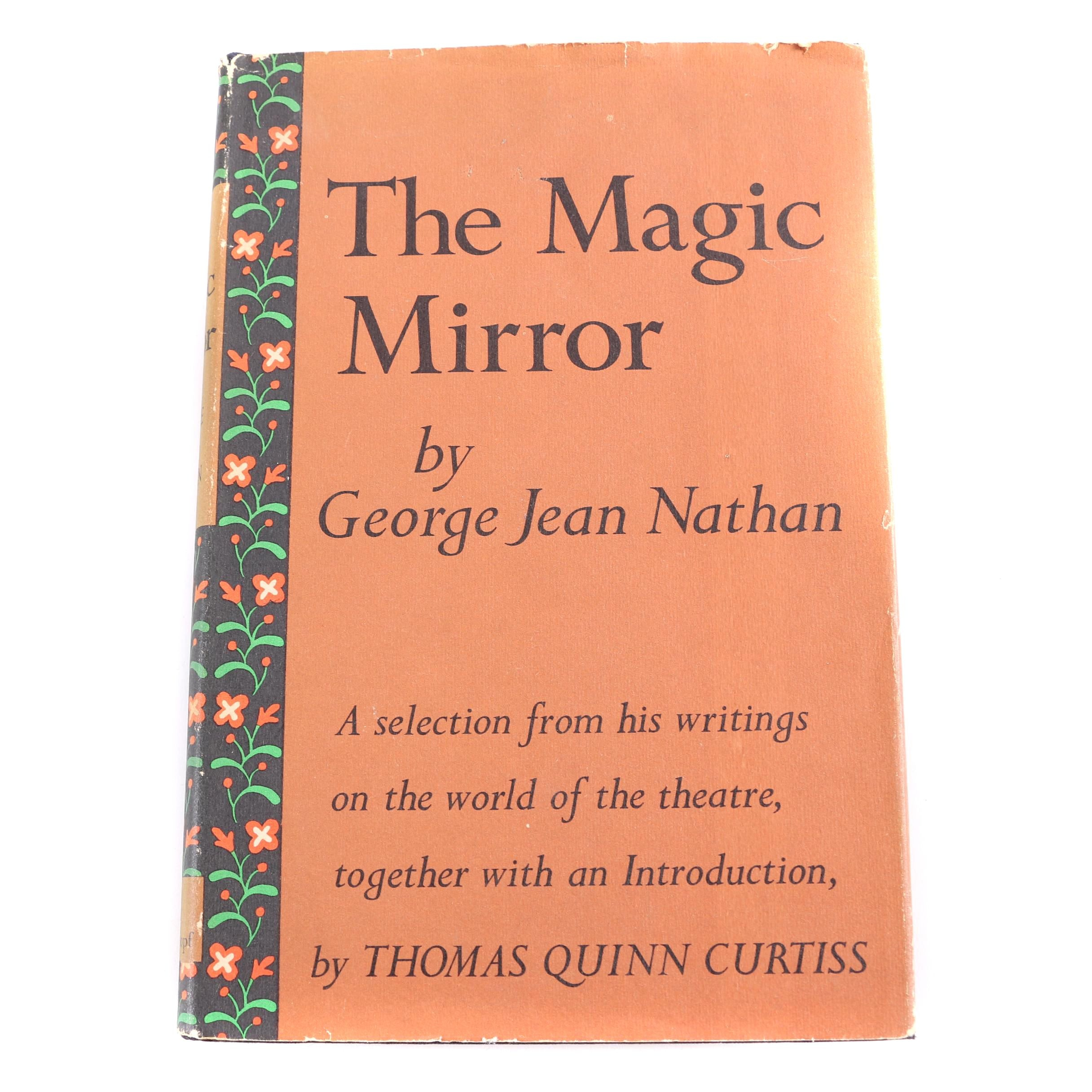 """1960 First Edition """"The Magic Mirror"""" by George Jean Nathan"""