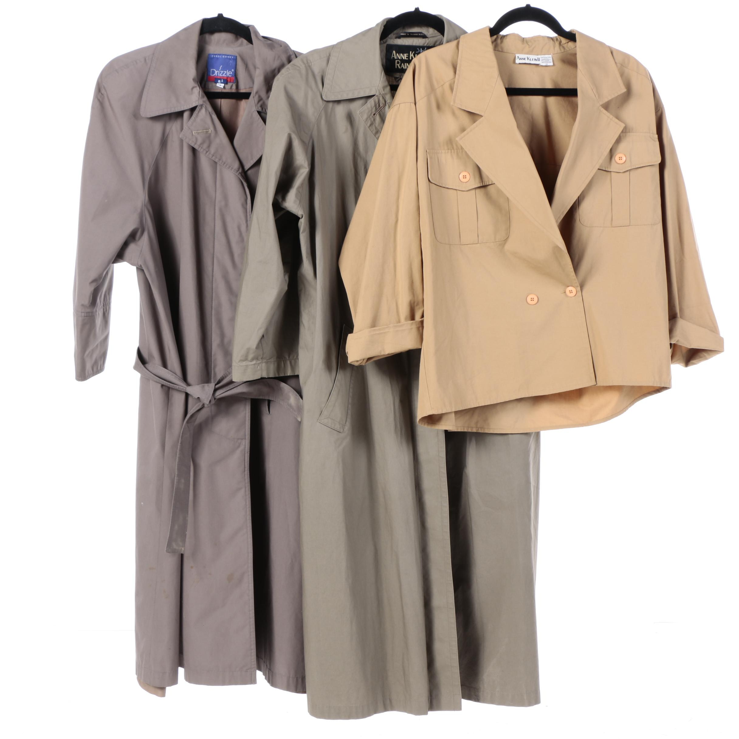 Women's Trench Coats and Jacket Including Anne Klein II