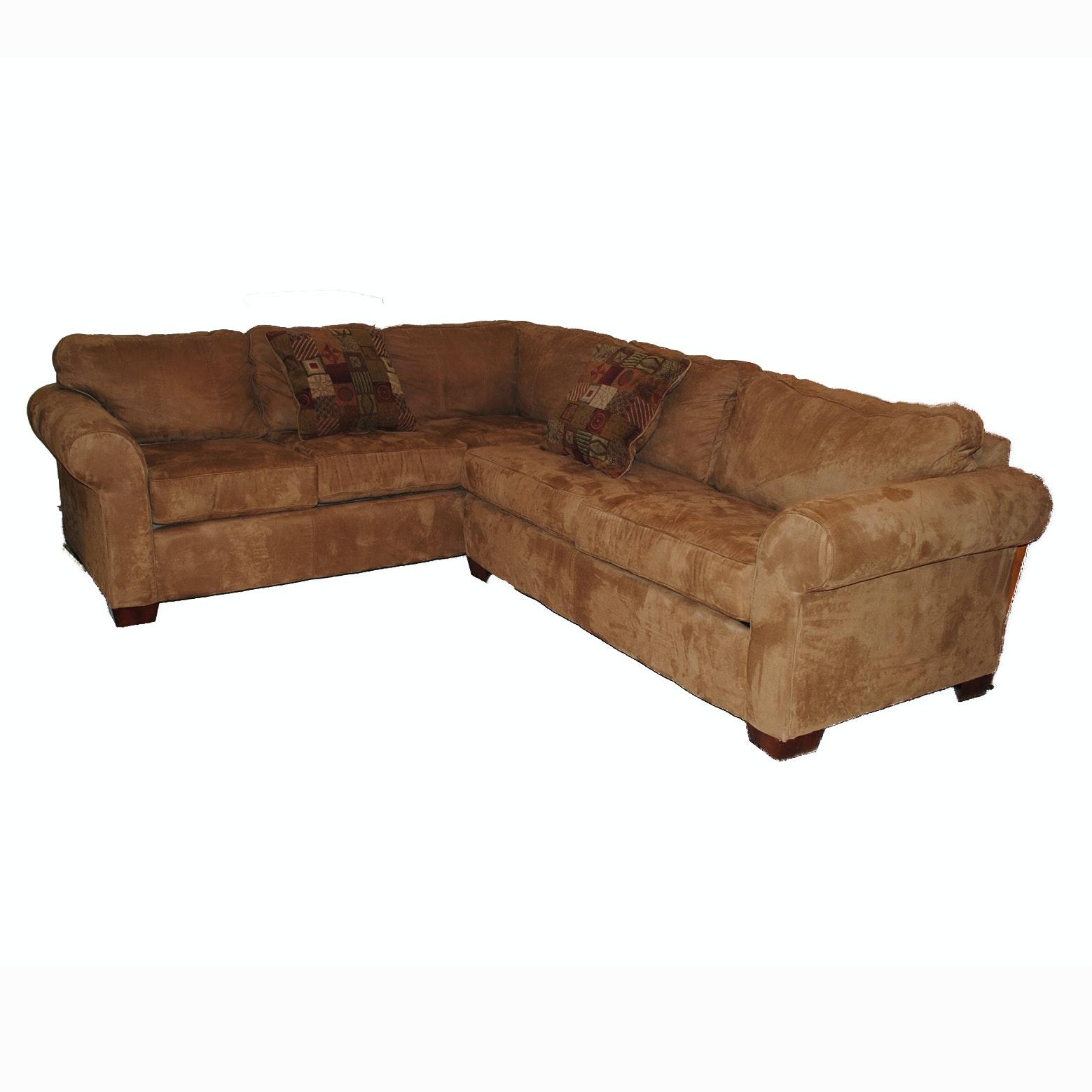 L-Shaped Sectional Sleeper Sofa