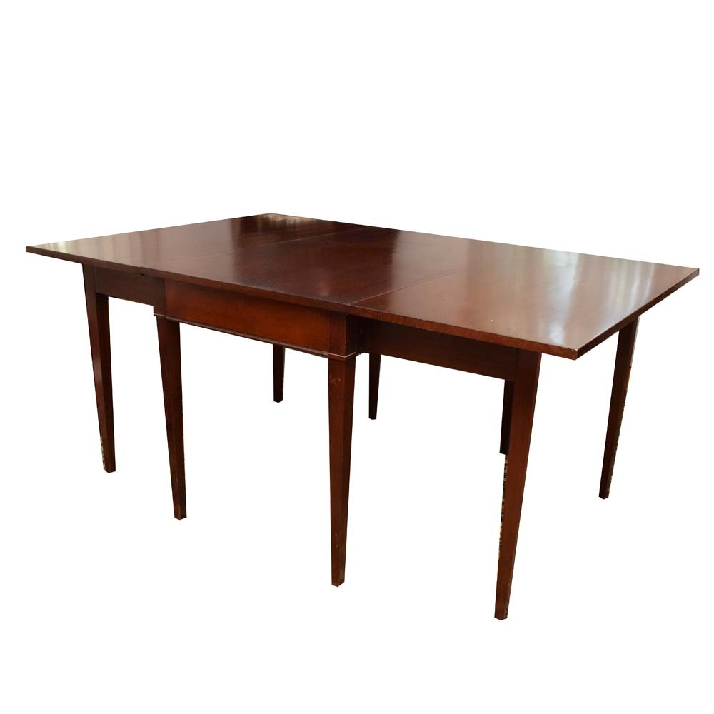 Heritage House Group by Drexel Traditional Mahogany Drop Leaf Dining Table