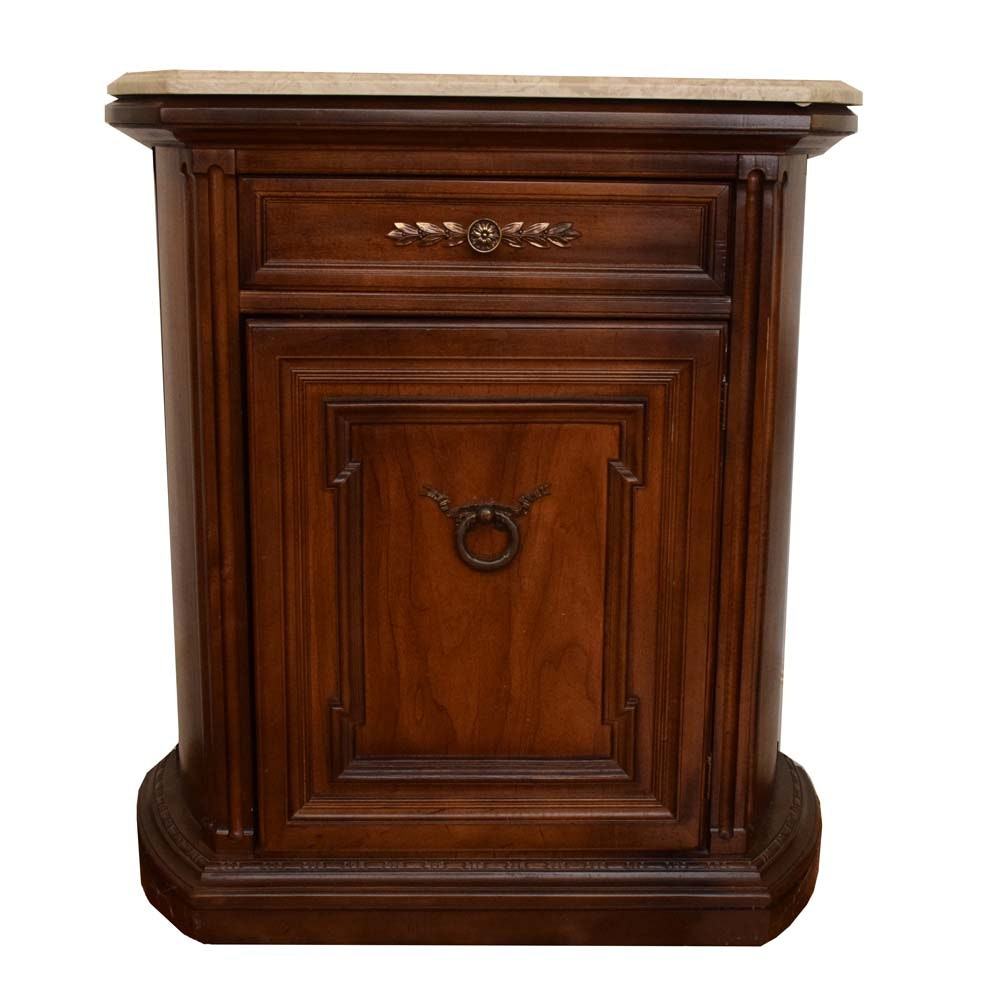 Hammary Marble Top Commode