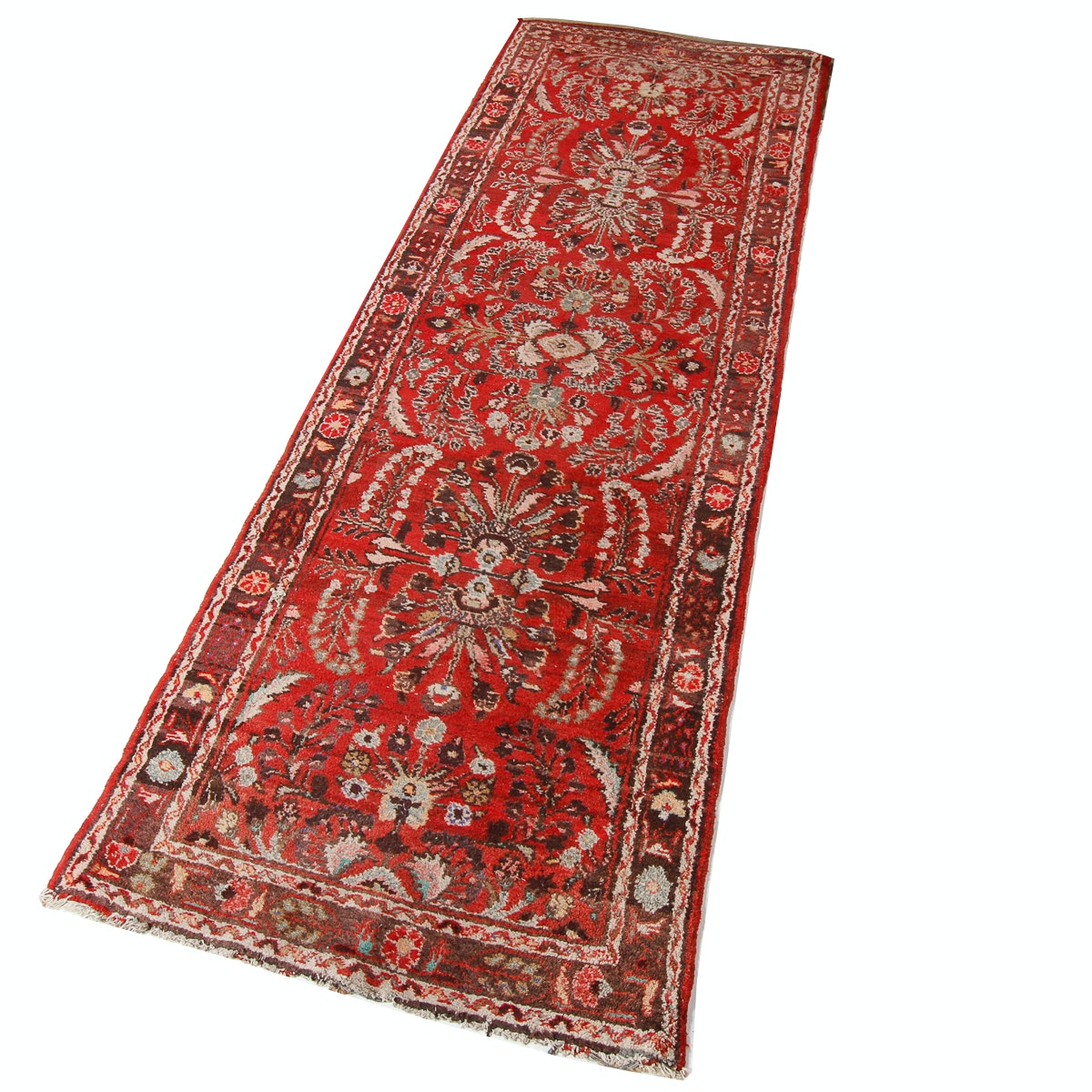 Hand-Knotted Persian Mehriban Wool Area Rug