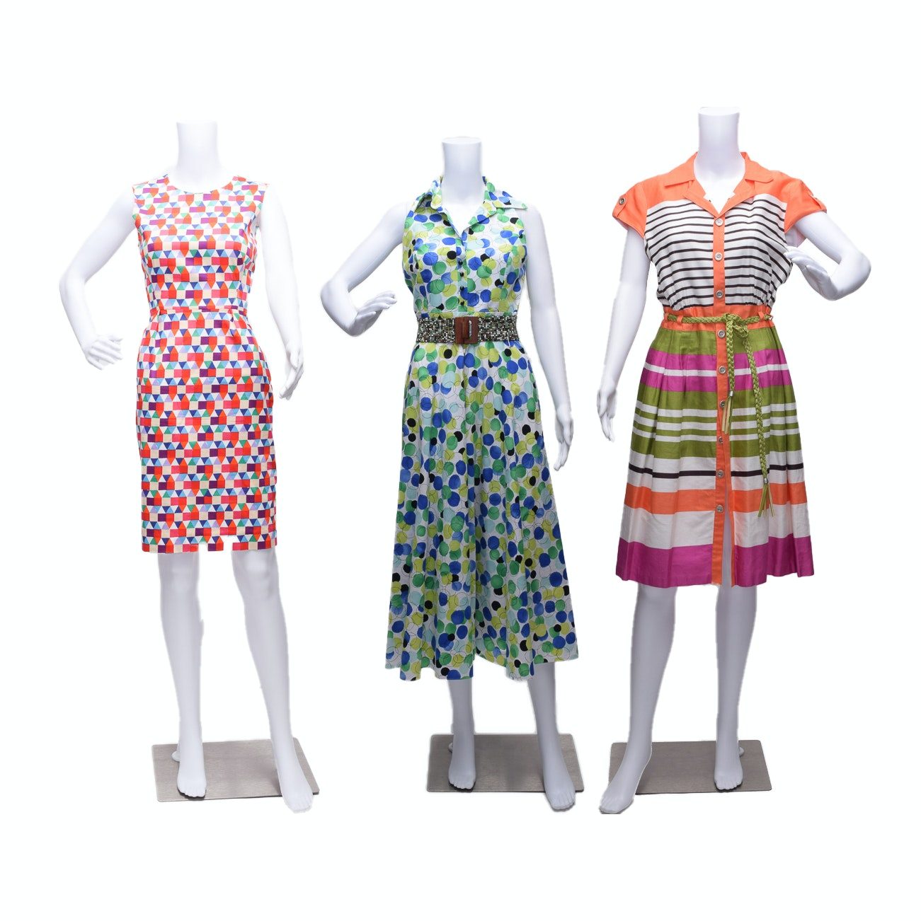 Summer Dresses Including Talbots and Leslie Fay