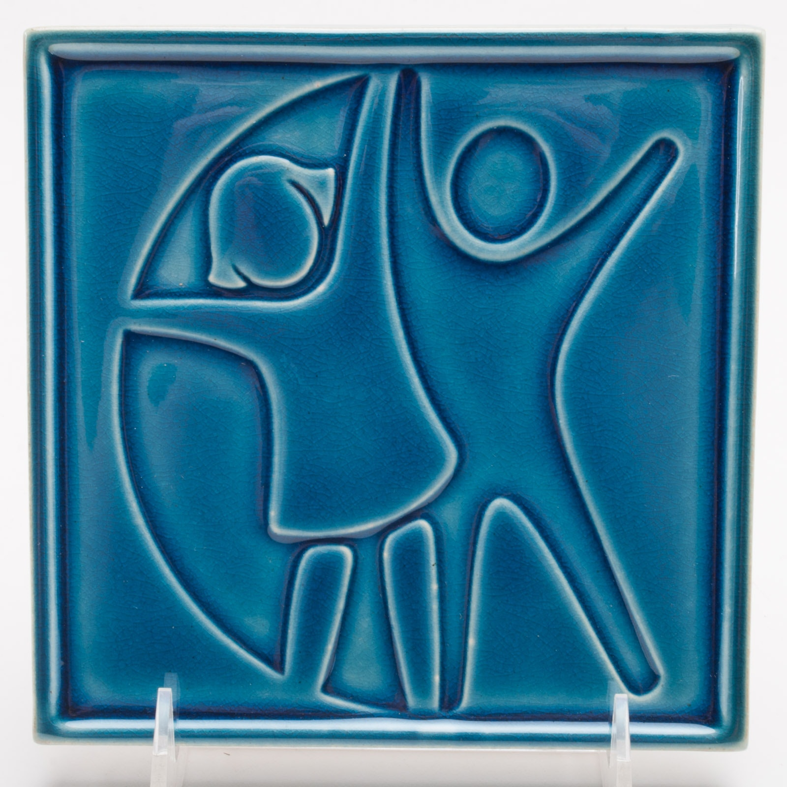 Rookwood Pottery Cincinnati Children's Hospital Medical Center Tile