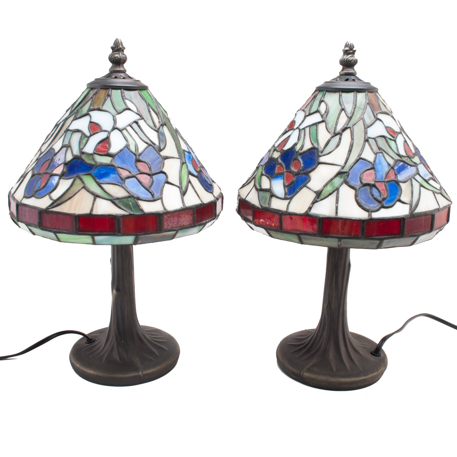 Pair of Contemporary Table or Desk Lamps