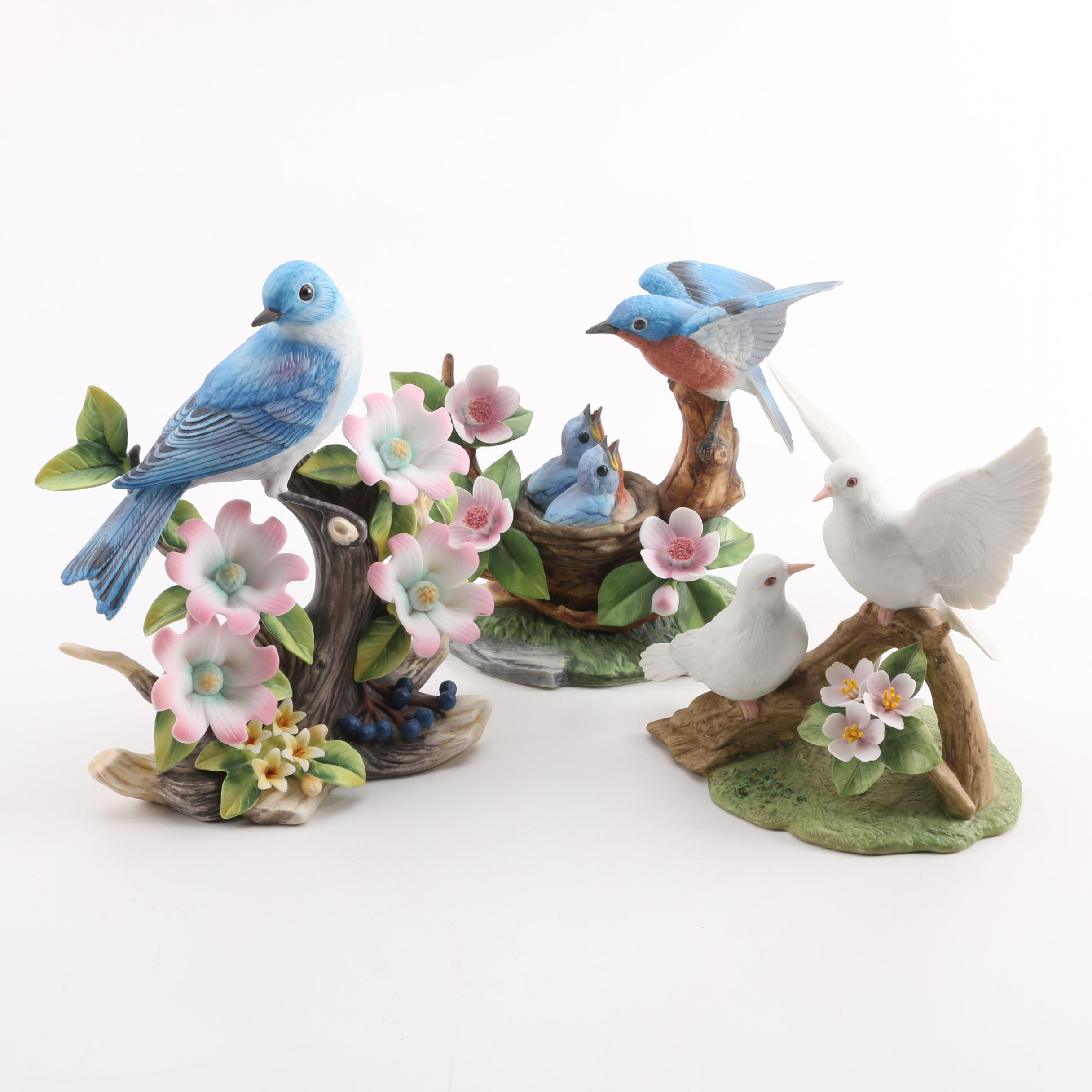 Vintage Andrea by Sadek Porcelain Bird Figurines