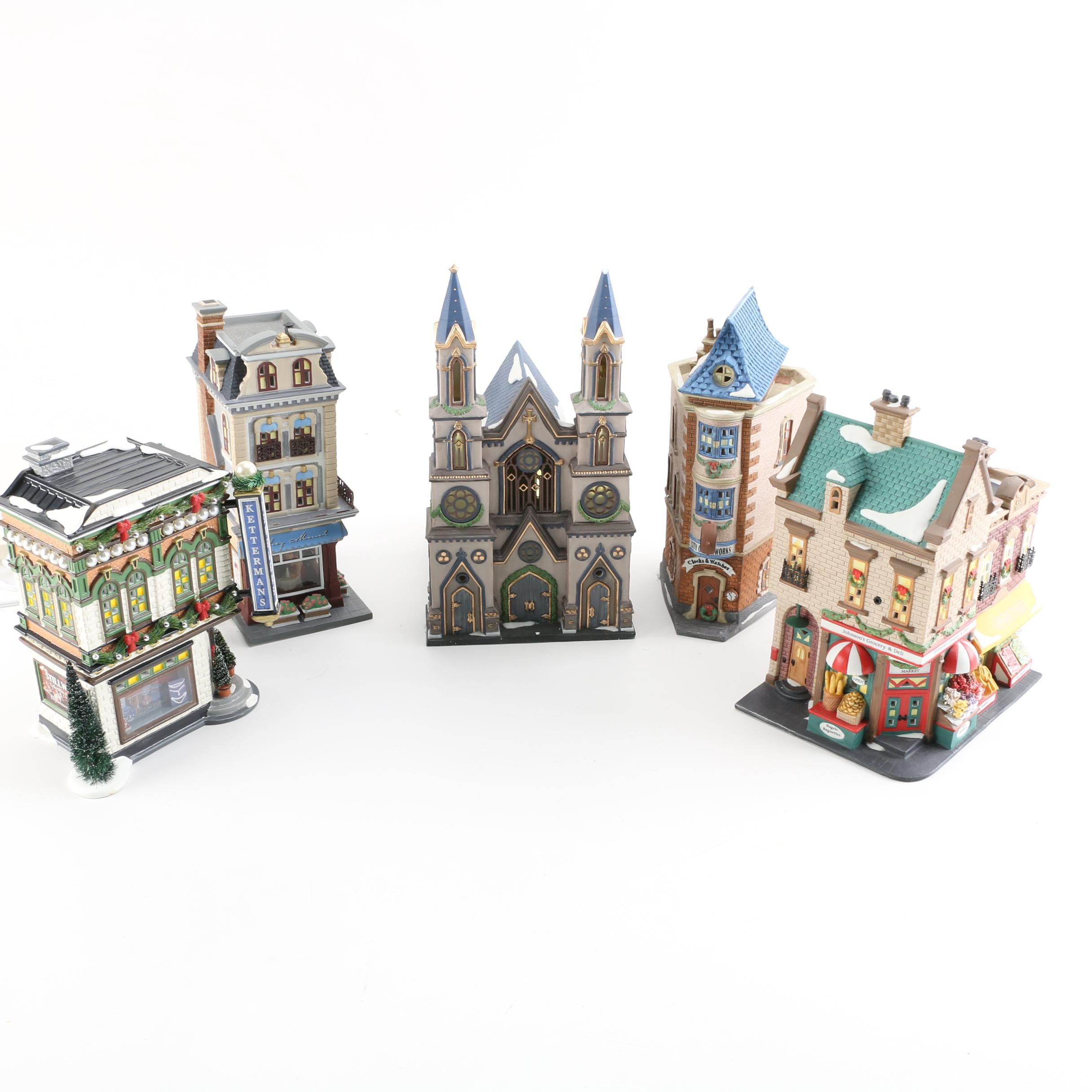 """Department 56 """"Christmas in the City"""" Village Series"""