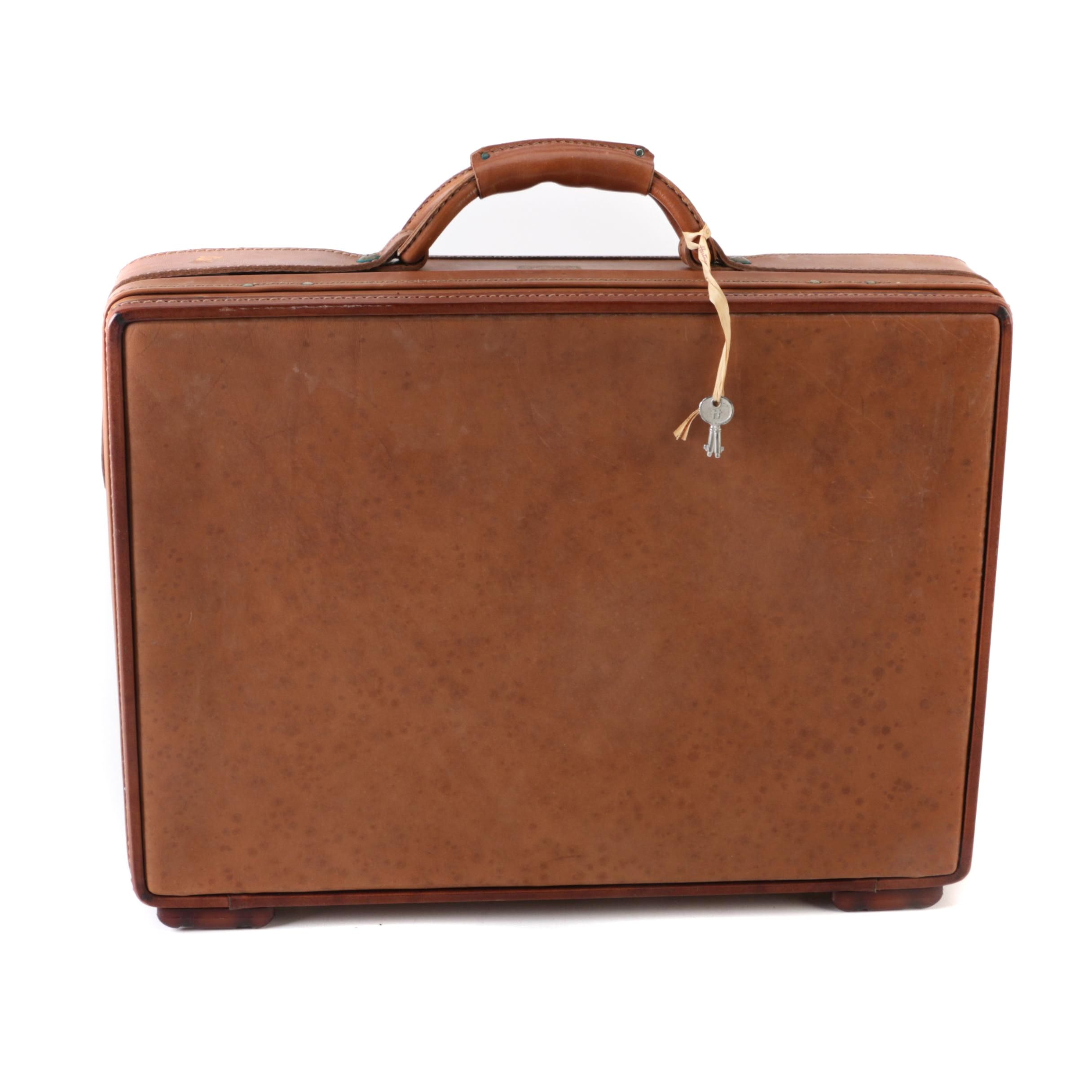 Hartman Leather Suitcase