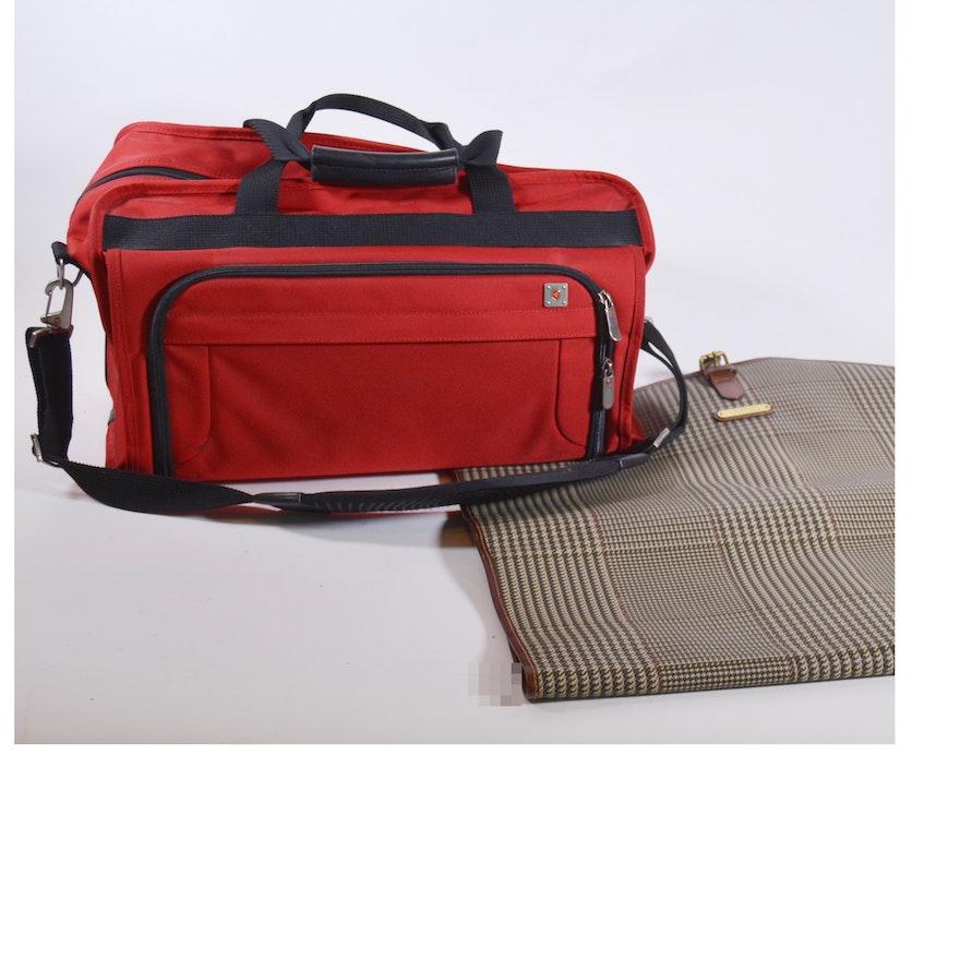 b091b19c16d7 Swiss Army Duffel Bag and Ralph Lauren Garment Bag   EBTH