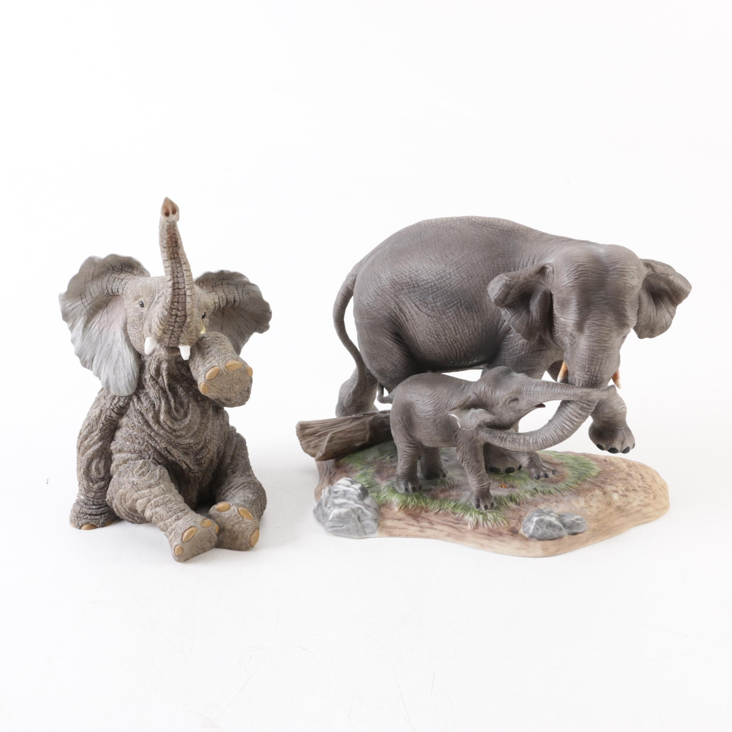 Lenox Porcelain Elephant Figurines