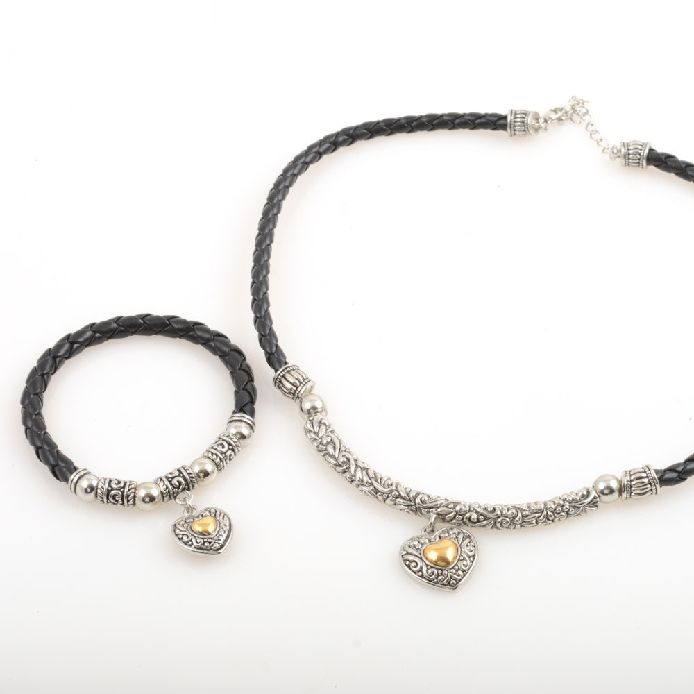 Premier Designs Necklace and Bracelet