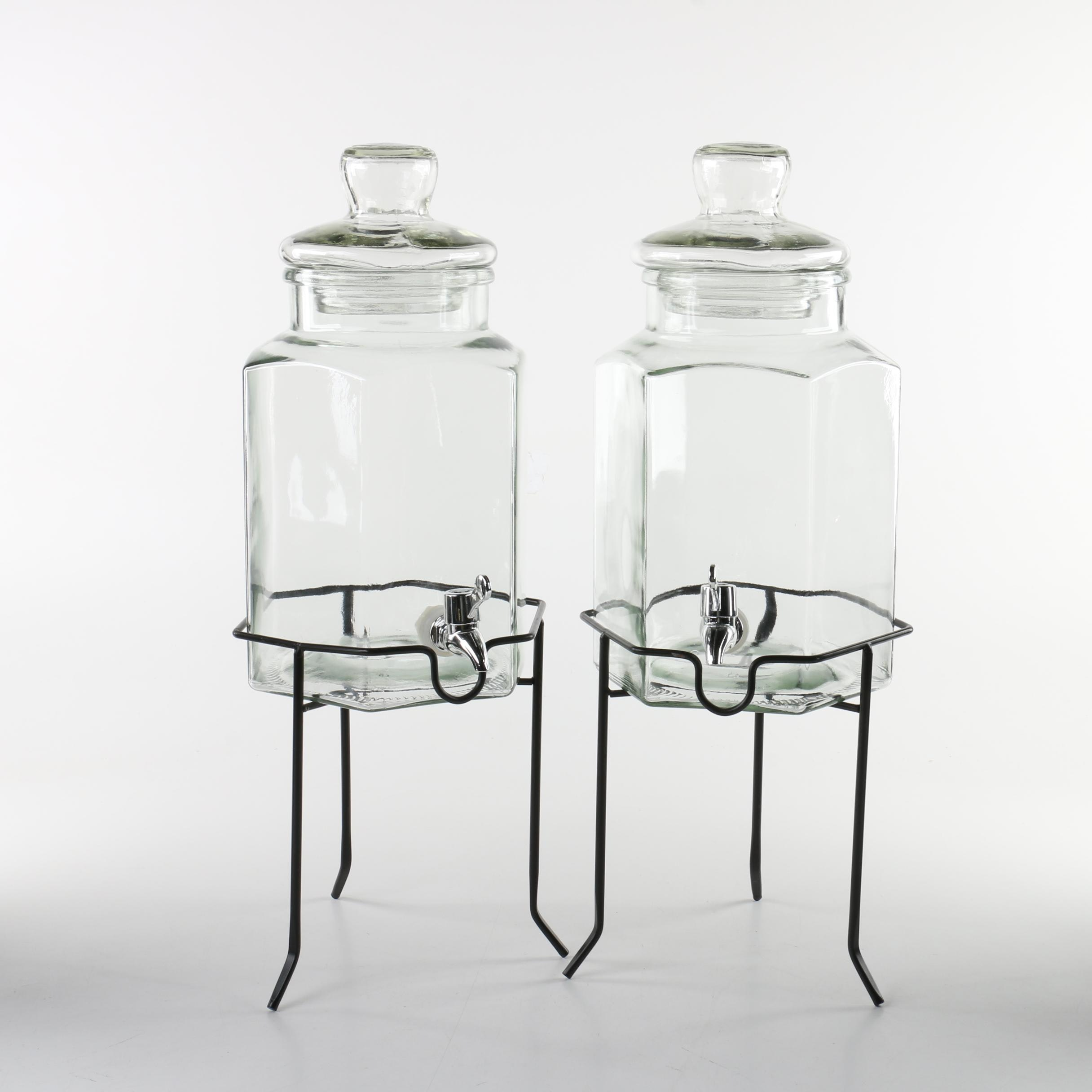 Gibson Home Beverage Dispensers with Stands