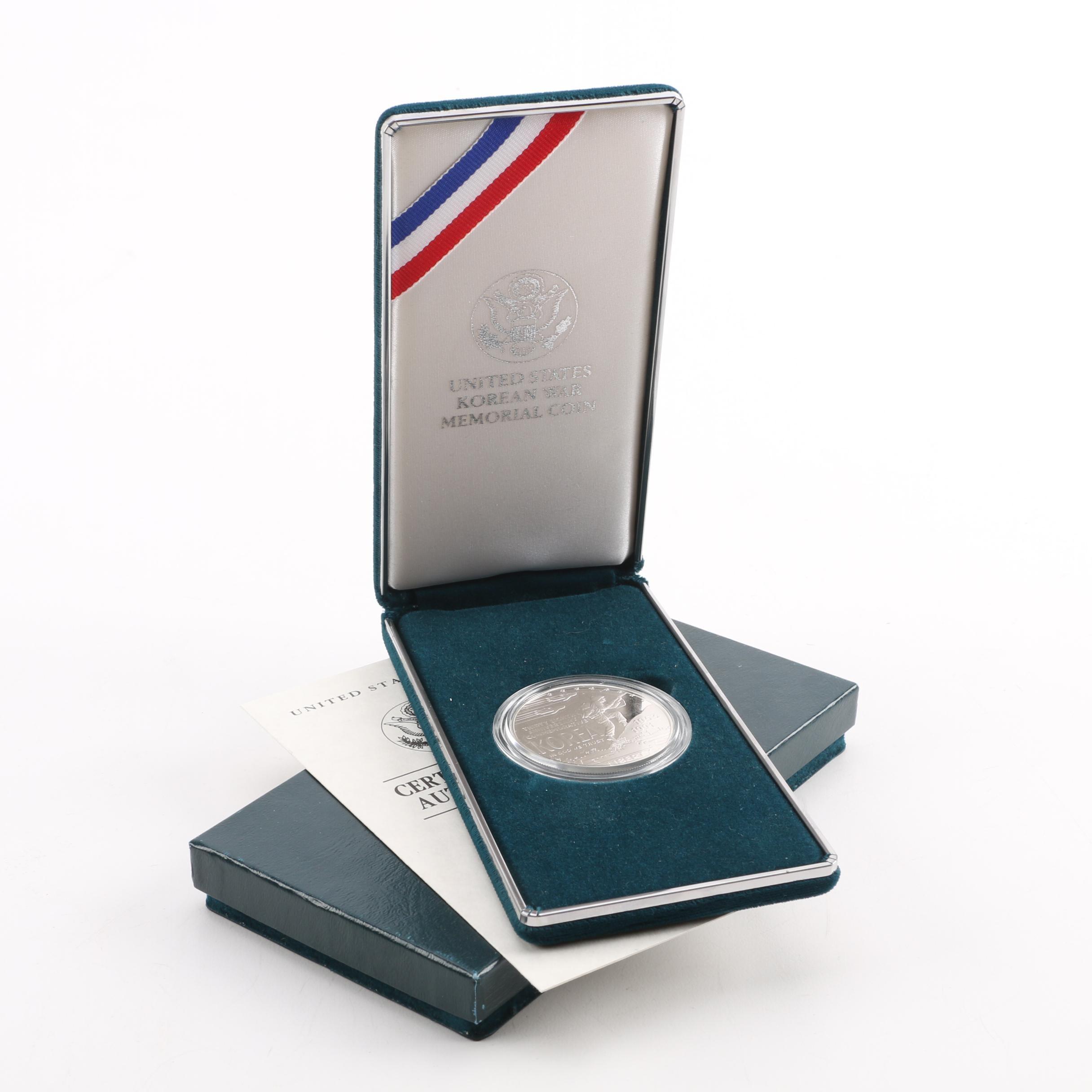 Korean War memorial coin