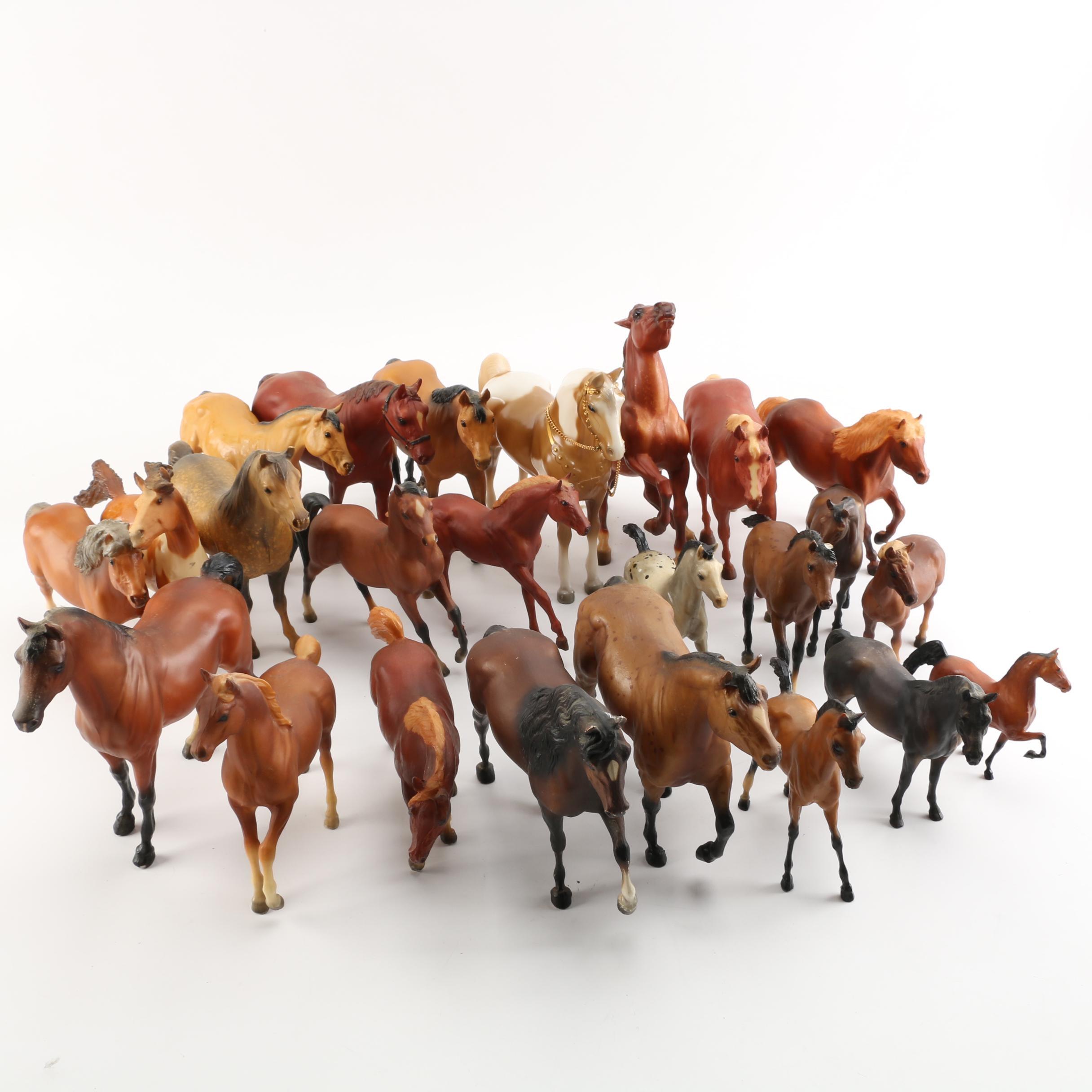 Horse Figurines Featuring Breyer