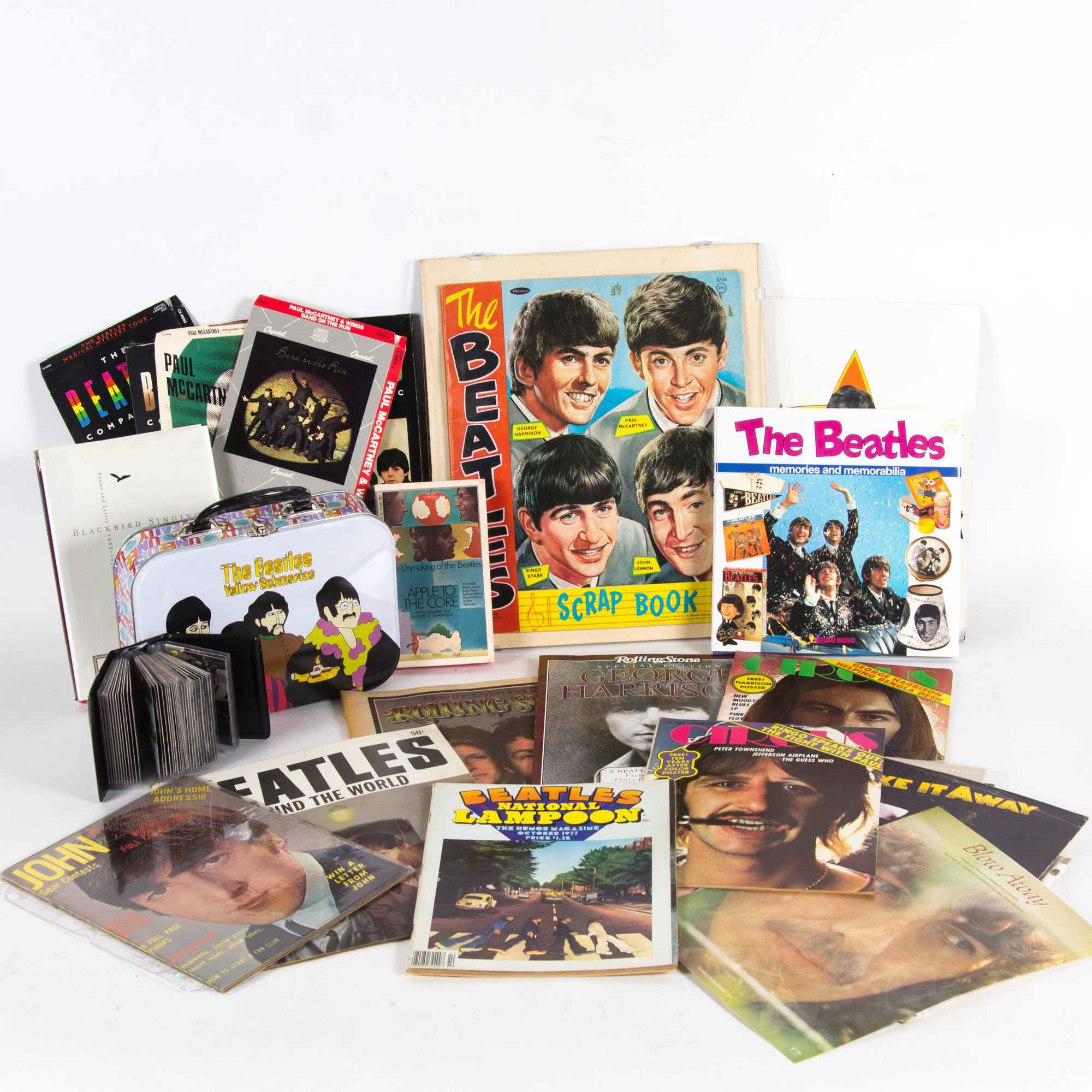 Assortment of Beatles Memorabilia and Ephemera