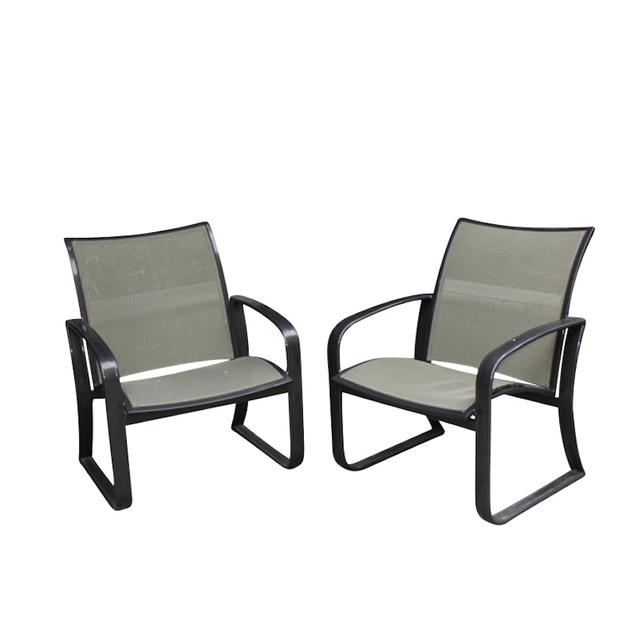woodard sling patio chairs ebth