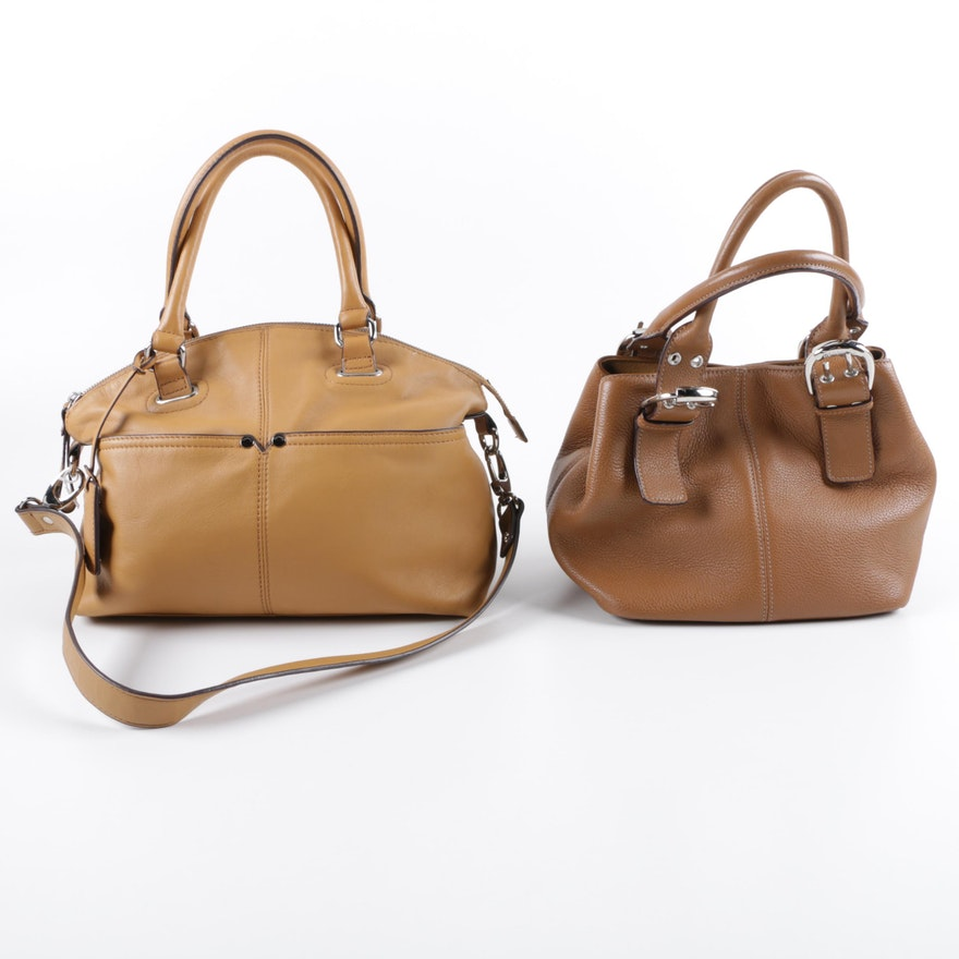 Tignanello Leather Handbags Ebth