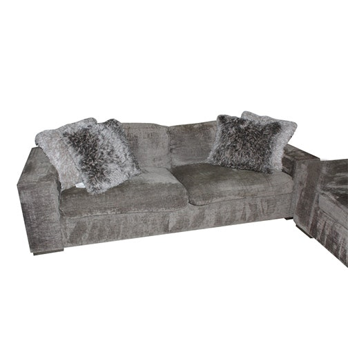 A. Rūdin Chenille Upholstered Sofa